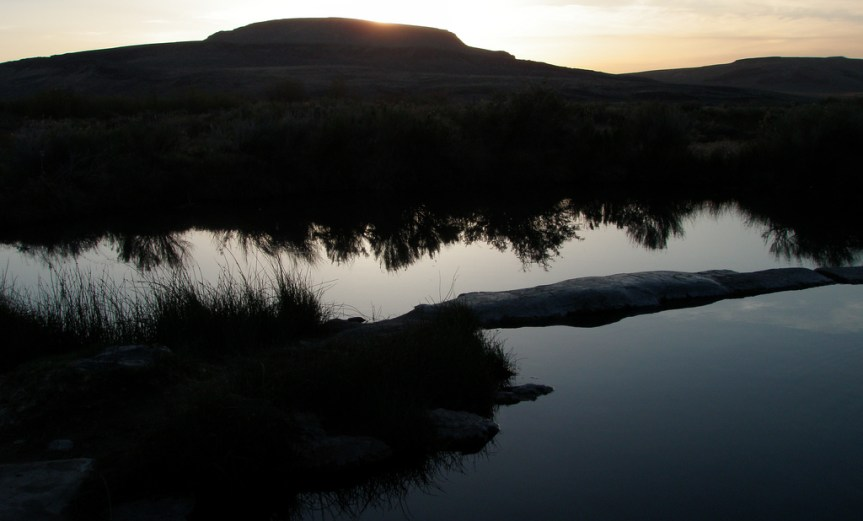 Willow Creek Hot Springs in Southeast Oregon