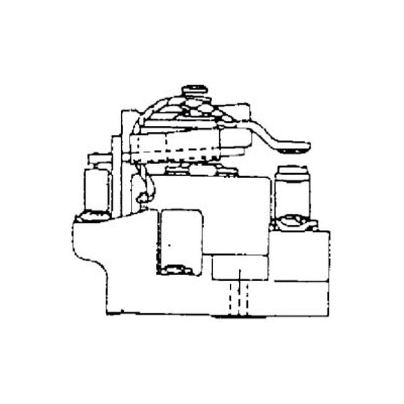 contactor relay coil ledningsdiagram