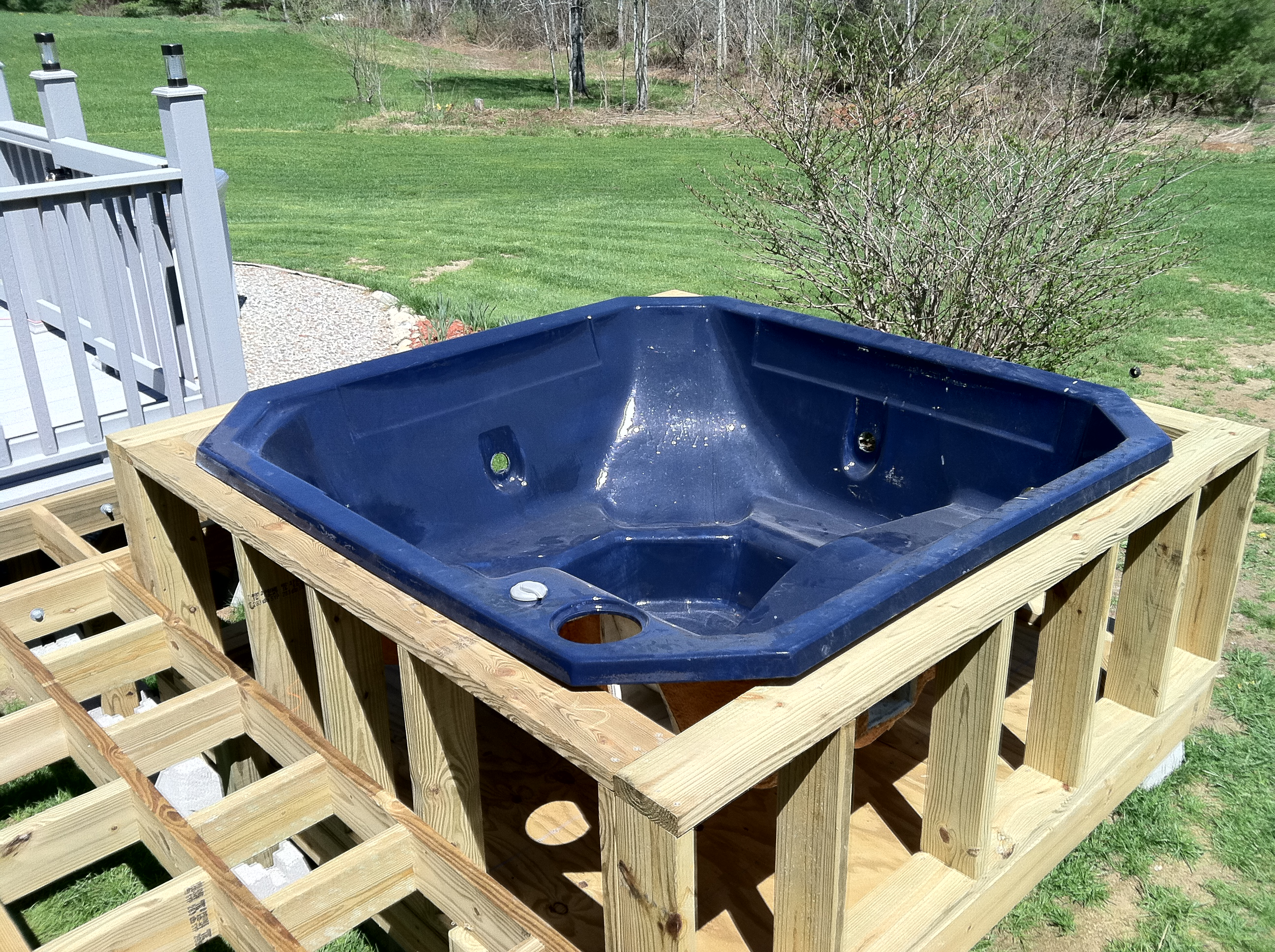 Jacuzzi Pool Repairs Hot Tub Walls And Walkway Supports Repair And