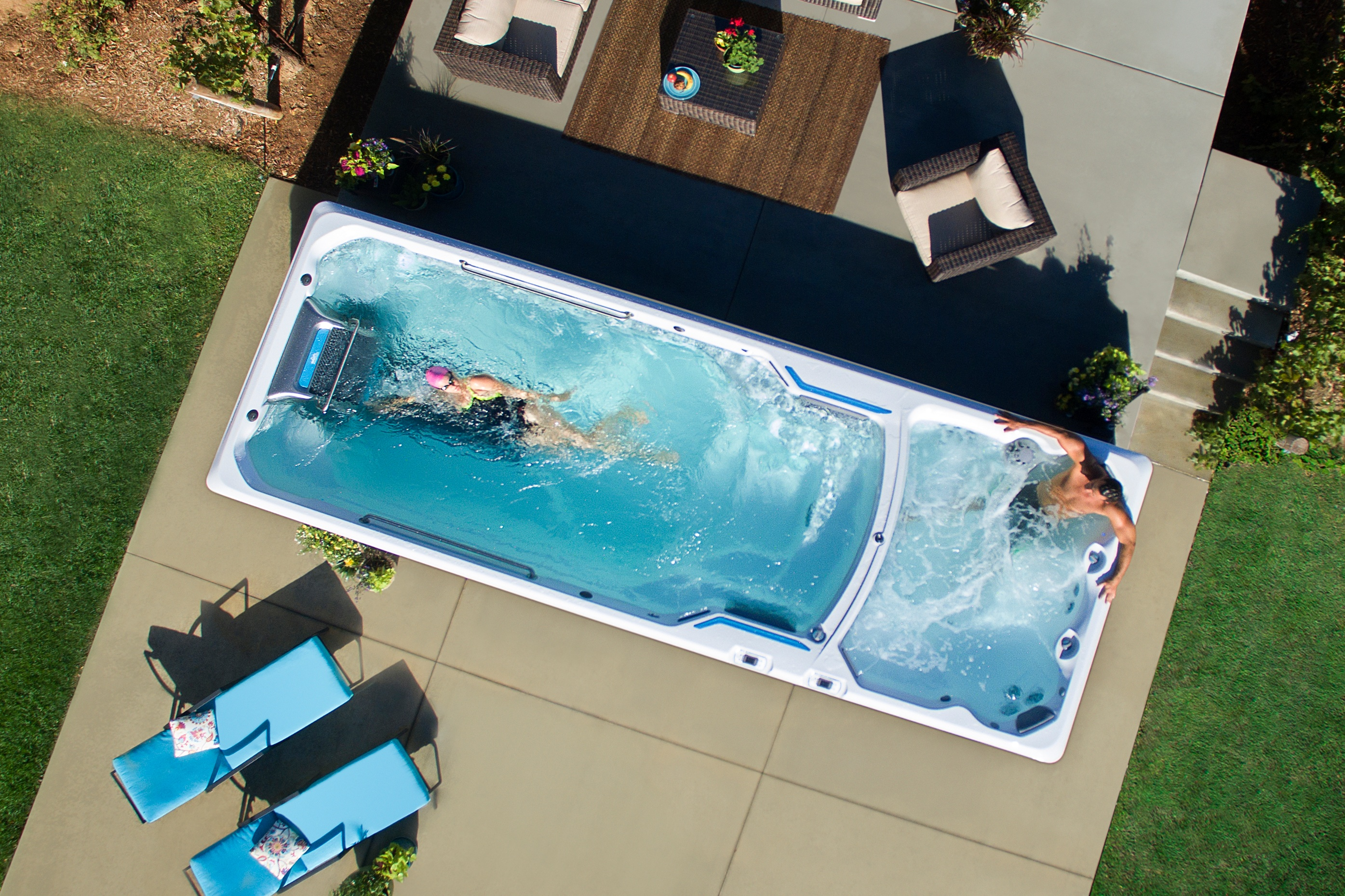 Jacuzzi Endless Pool Swim Spa Fitness Systems