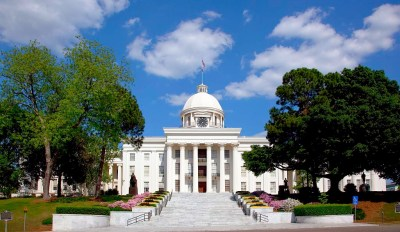 Eighth Most Beautiful State Capitol Building: Montgomery, Alabama - HottyToddy.com