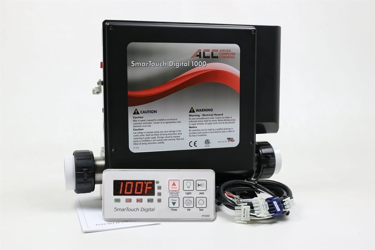 Jacuzzi Pool Heater Parts Smart Touch 1000