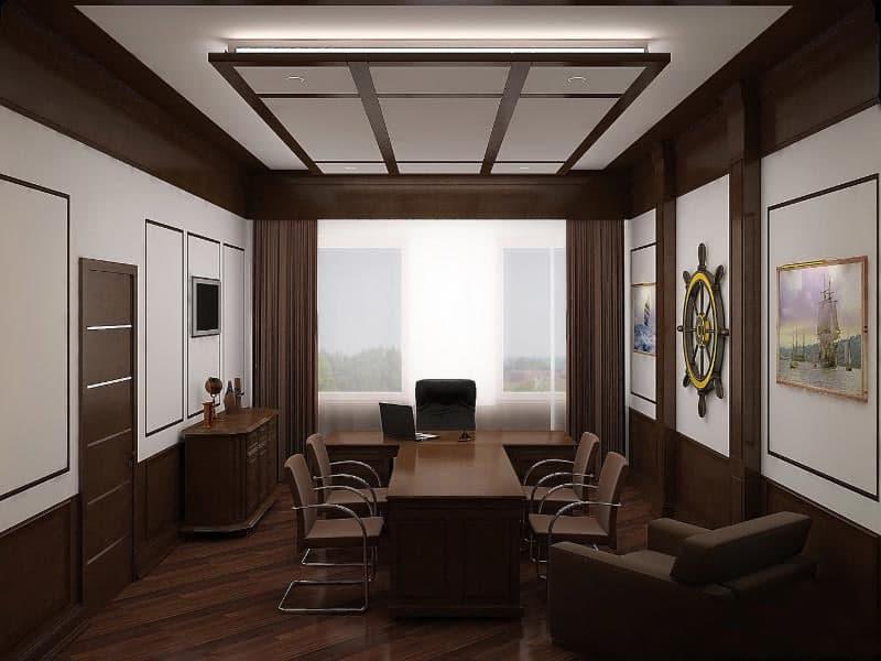 Modern office design  HOUSE INTERIOR