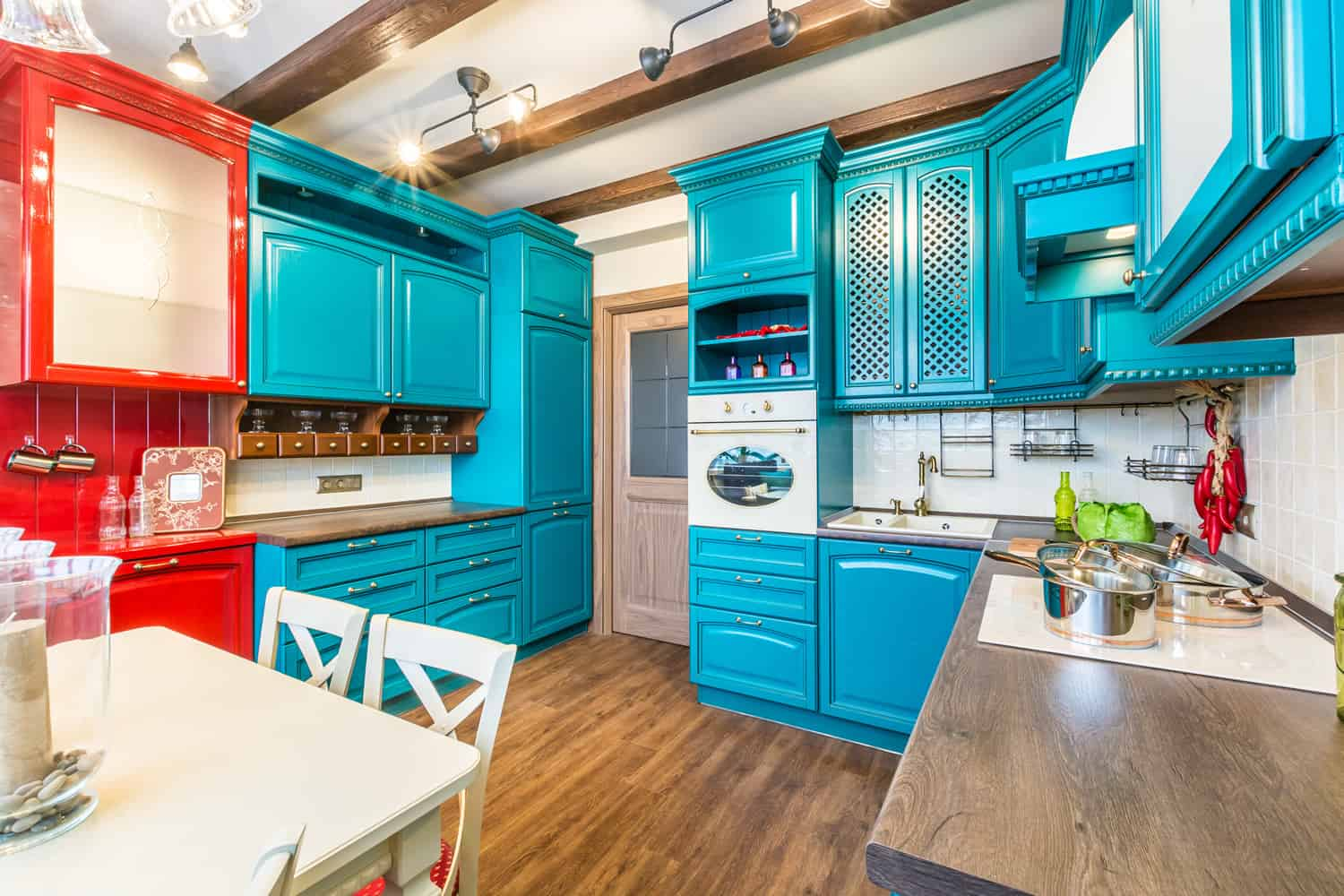 Teal Kitchen Decorating Ideas Kitchen Design Ideas Turquoise Kitchen