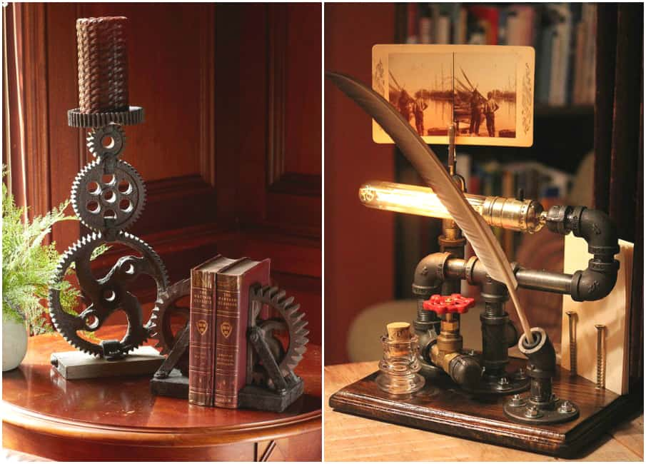 Room decor for teens: Steampunk bedroom