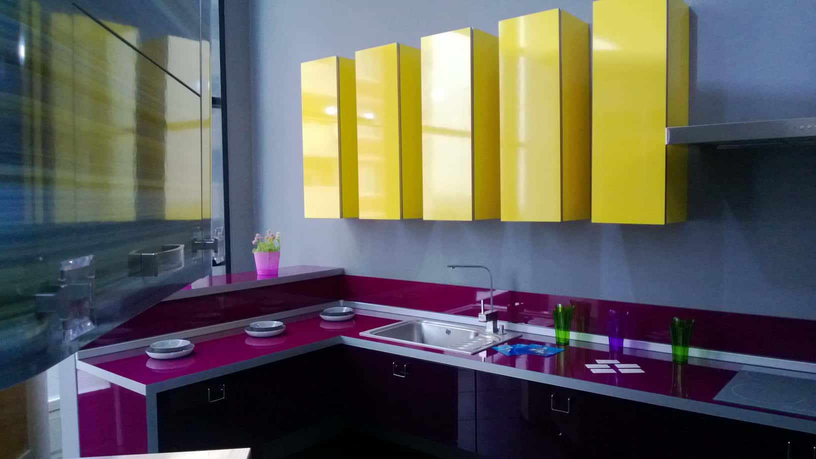 Trend Desain 2017 Interior Design Trends 2017 Purple Kitchen House Interior