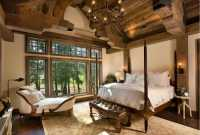 Home decor trends 2017: Rustic bedroom  HOUSE INTERIOR