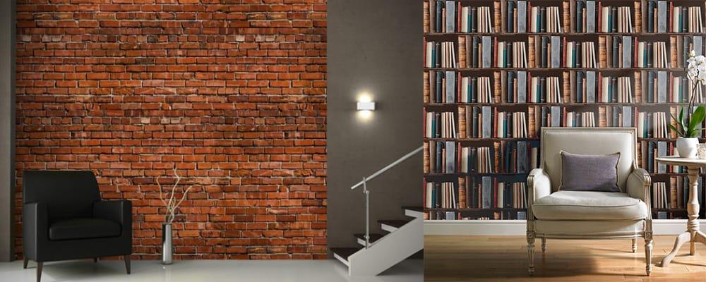 3d Effect Wallpaper For Living Room Wall Design Ideas And Tendencies Wallpaper Trends 2018