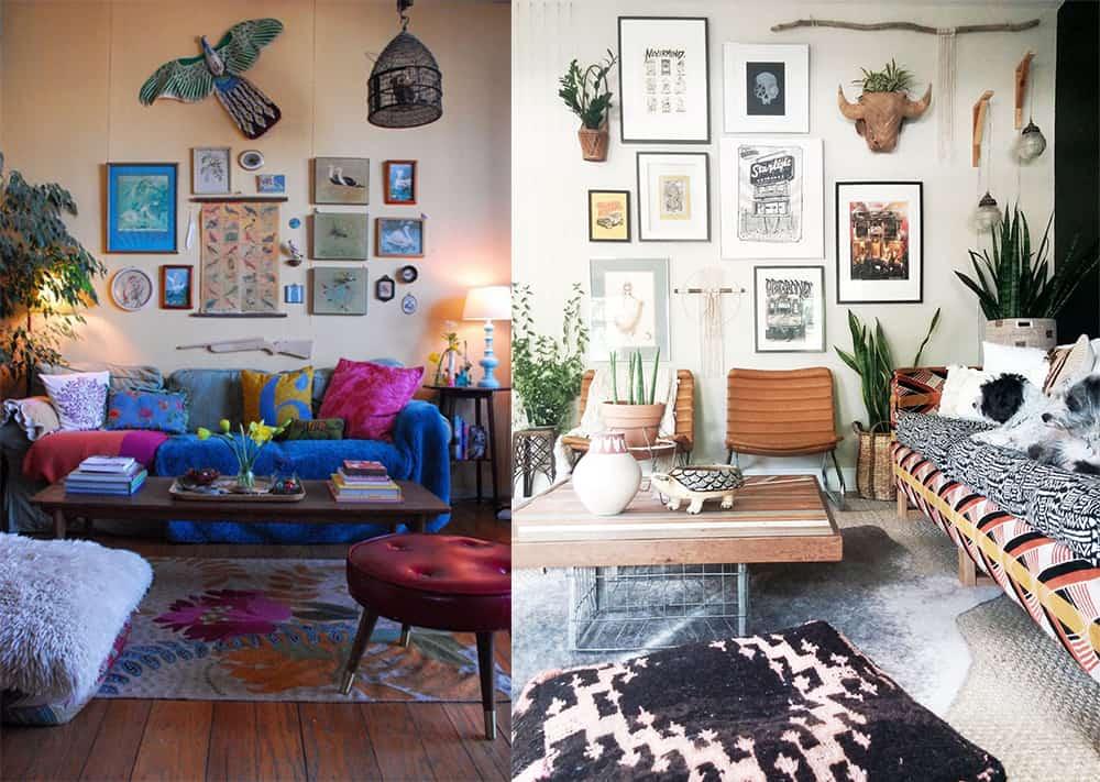 Boho home decor: Enchanting Boho living room for your home