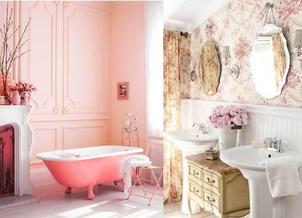 Bathroom decor ideas: Dreamy Shabby chic bathroom for your