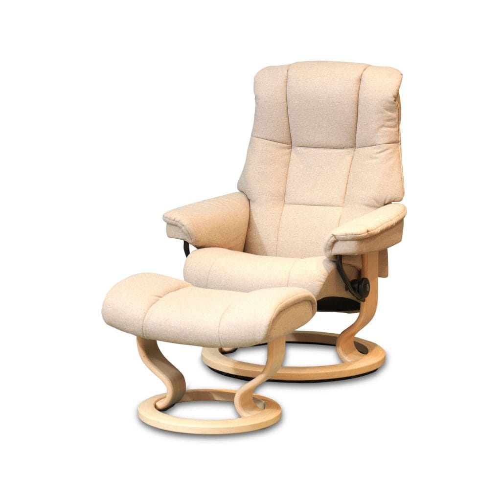 Stressless Sessel Stoff Relaxsessel Stressless Mayfair Calido Lightbeige Gestell