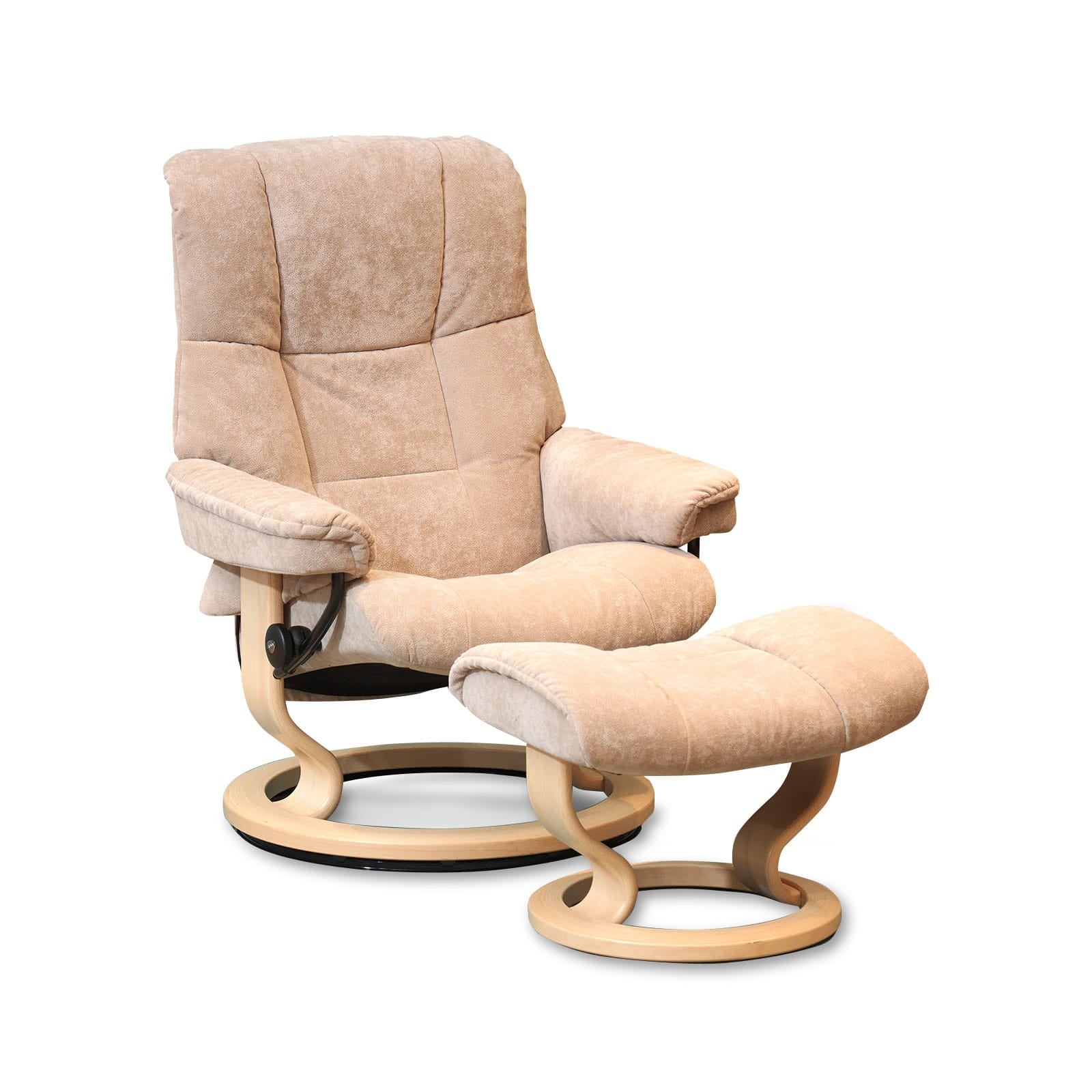 Stressless Sessel Mit Hocker Stressless Sessel Mayfair Stoff Karma Dark Beige Mit Hocker