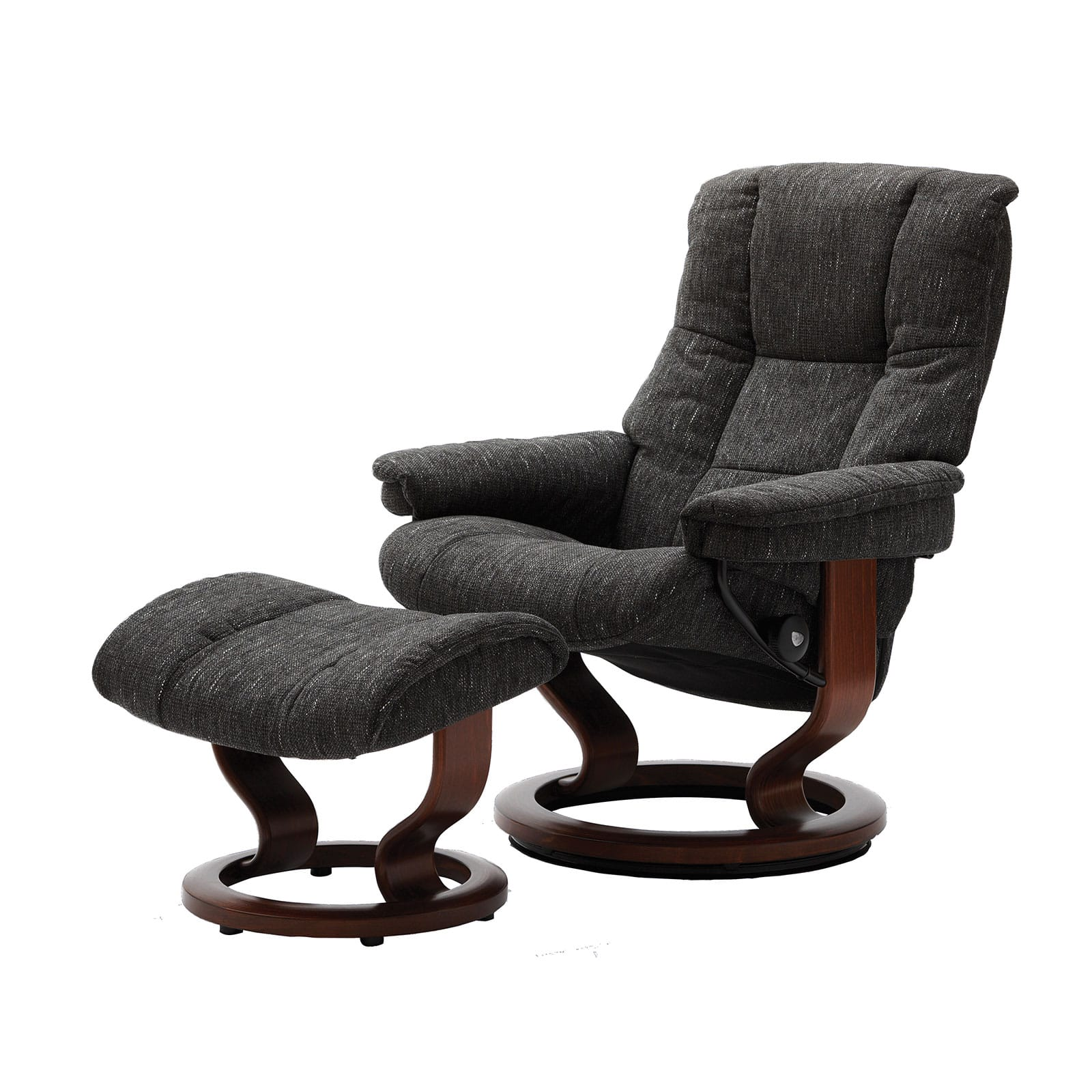 Fernsehsessel Stoff Stressless Sessel Mayfair Stoff Karma Grey Mit Hocker