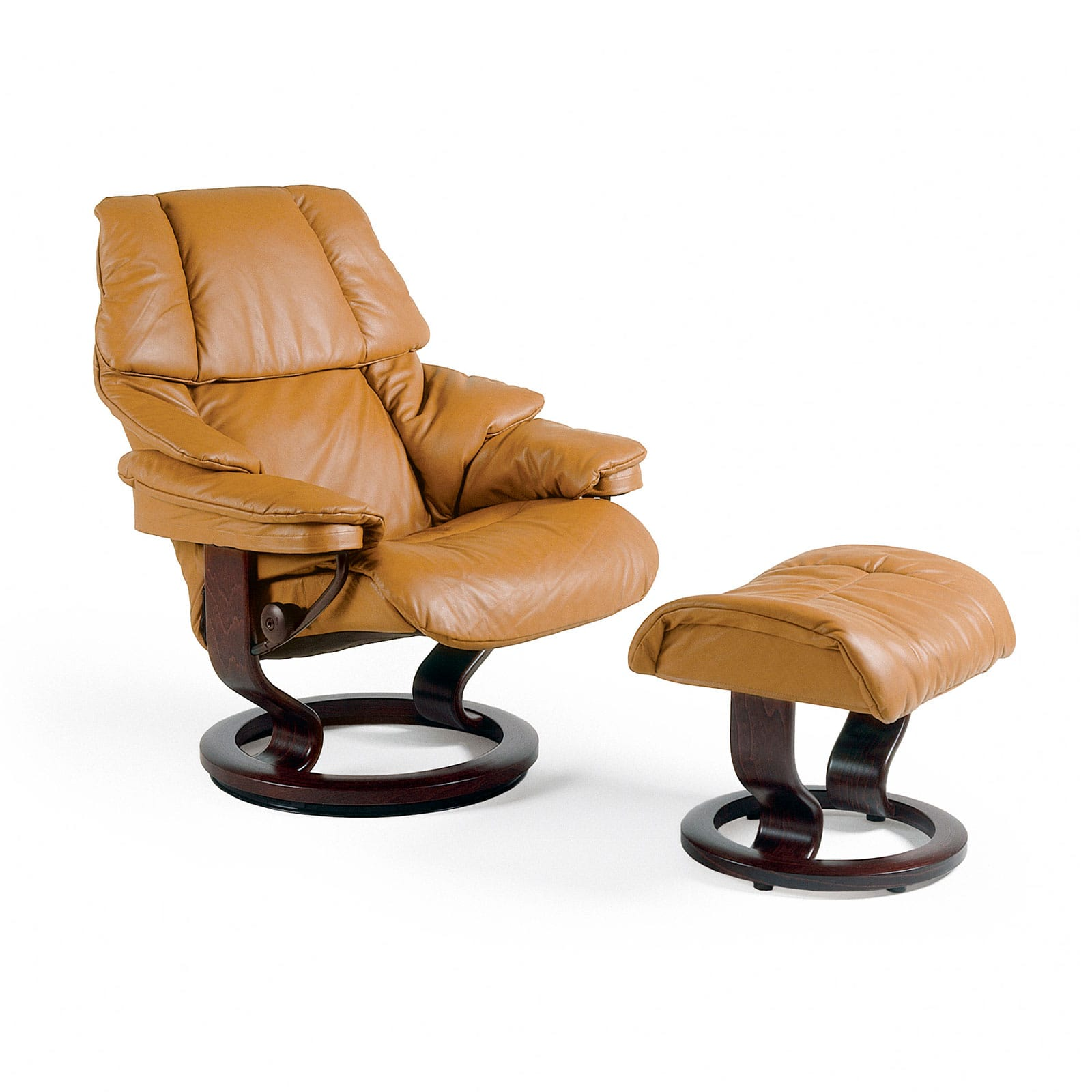 Stresless Stressless Sessel Reno Leder Cori Tan Mit Hocker