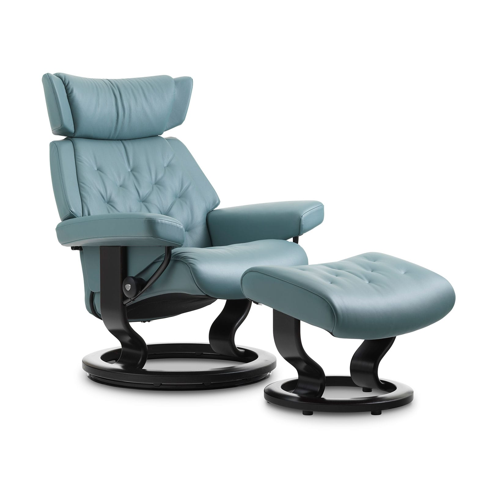 Stressless Sessel Skyline Stressless Sessel Skyline Paloma Aqua Green Classic