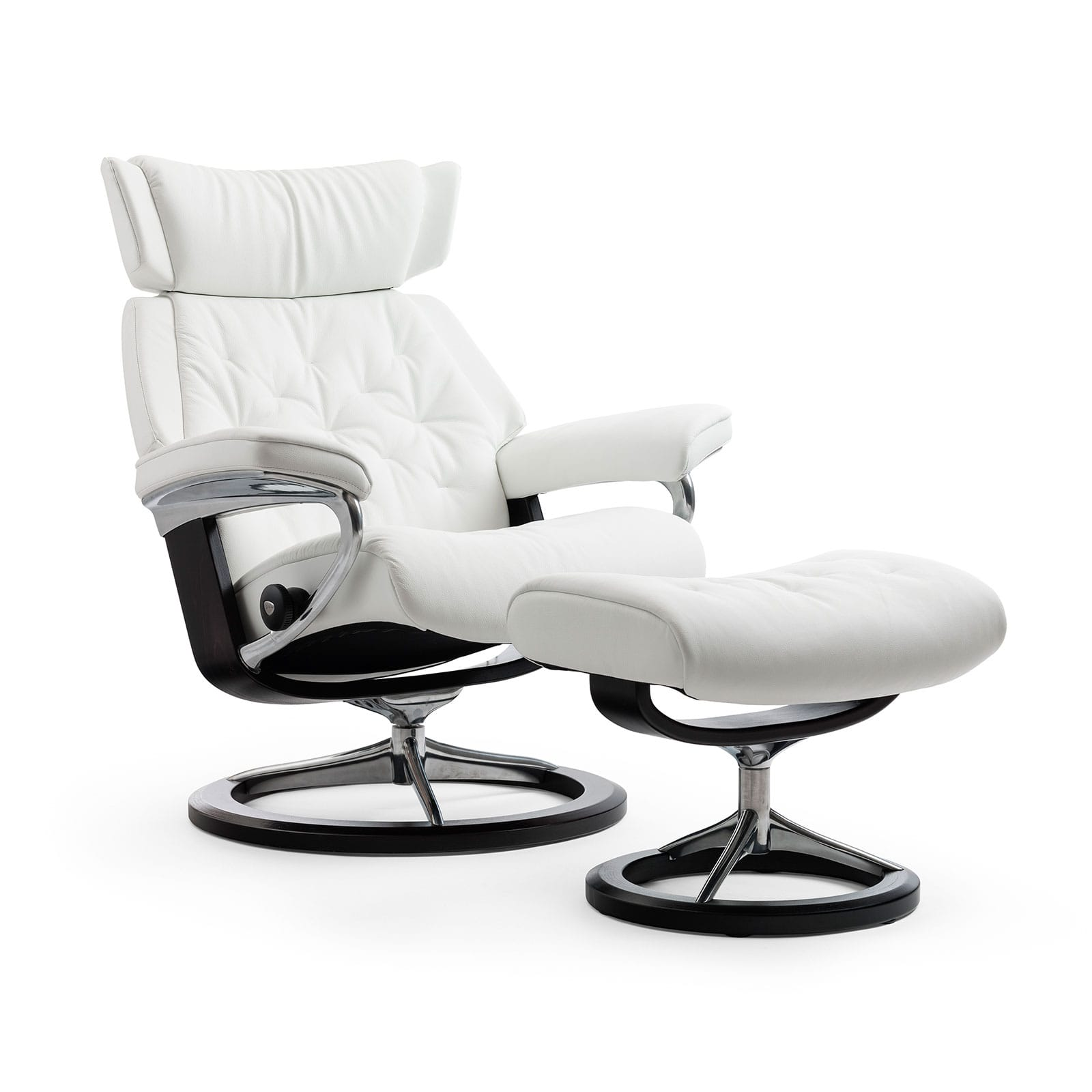 Test Stressless Sessel Stressless Sessel Skyline Batick Snow Signature Wenge Hocker