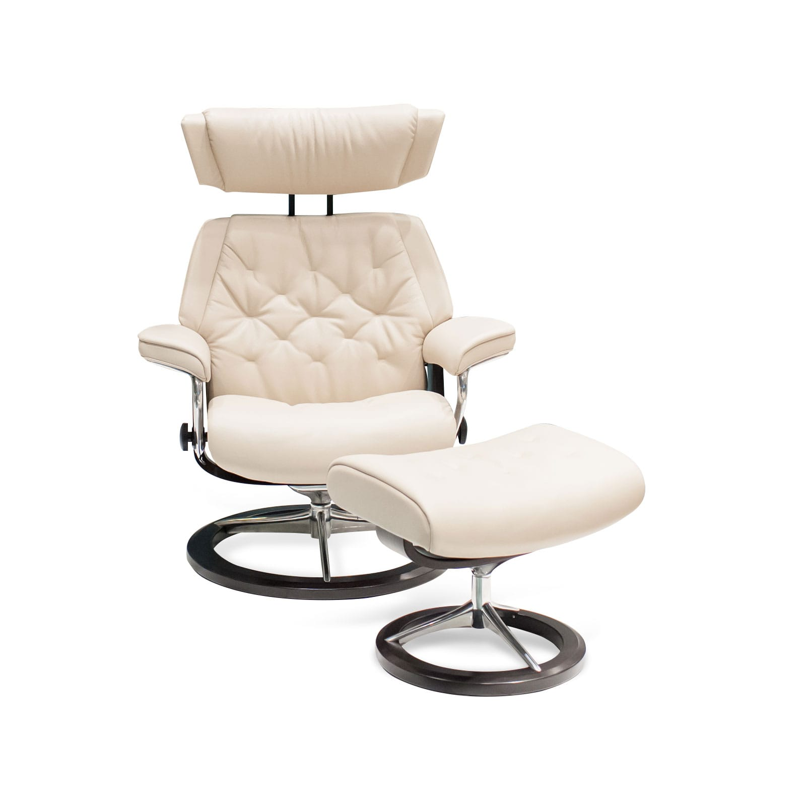 Stressless Sessel Skyline Stressless Sessel Skyline Cori Fog Signature Mit Hocker
