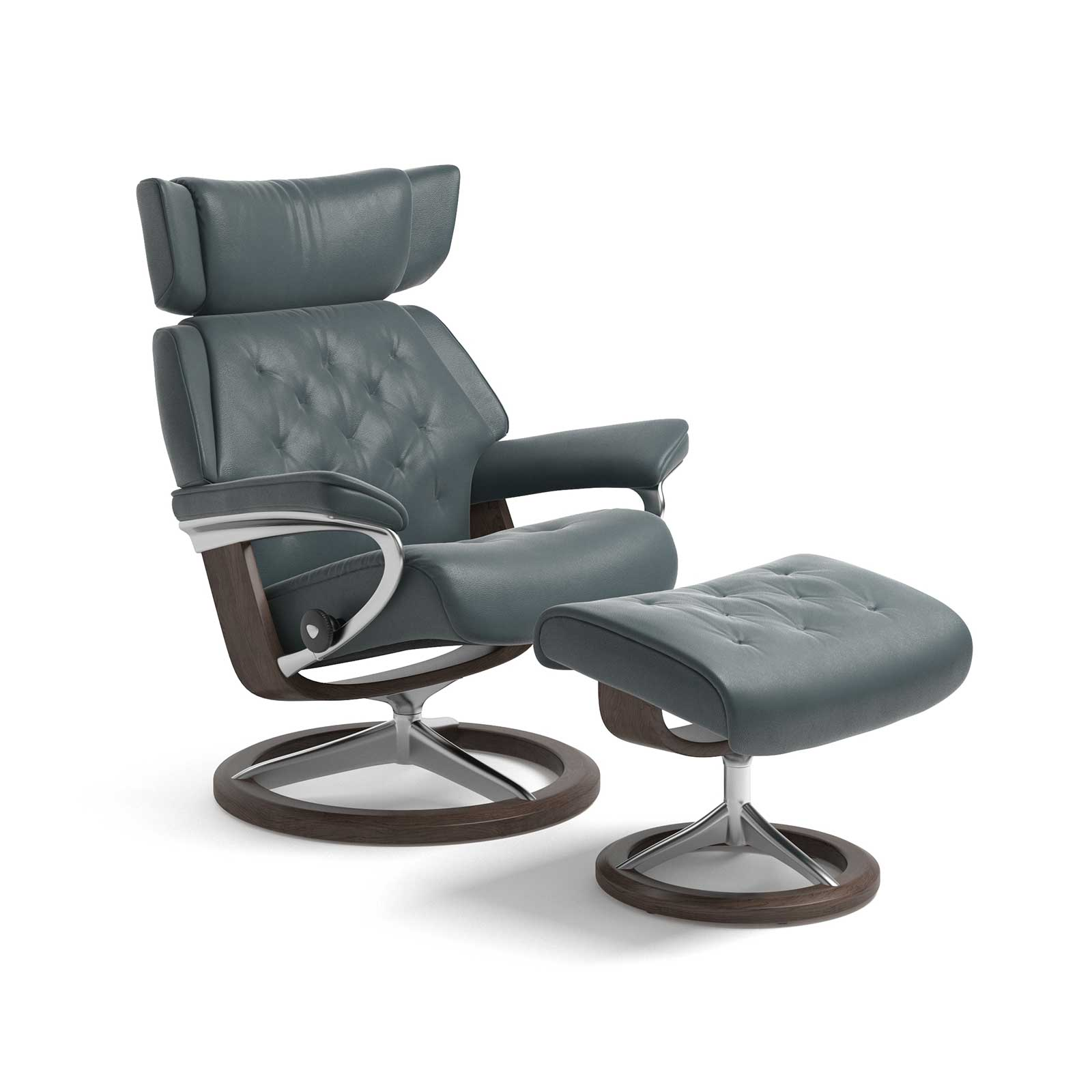 Stressless Sessel Berlin Stressless Sessel Skyline Cori Petrol Signature Mit Hocker