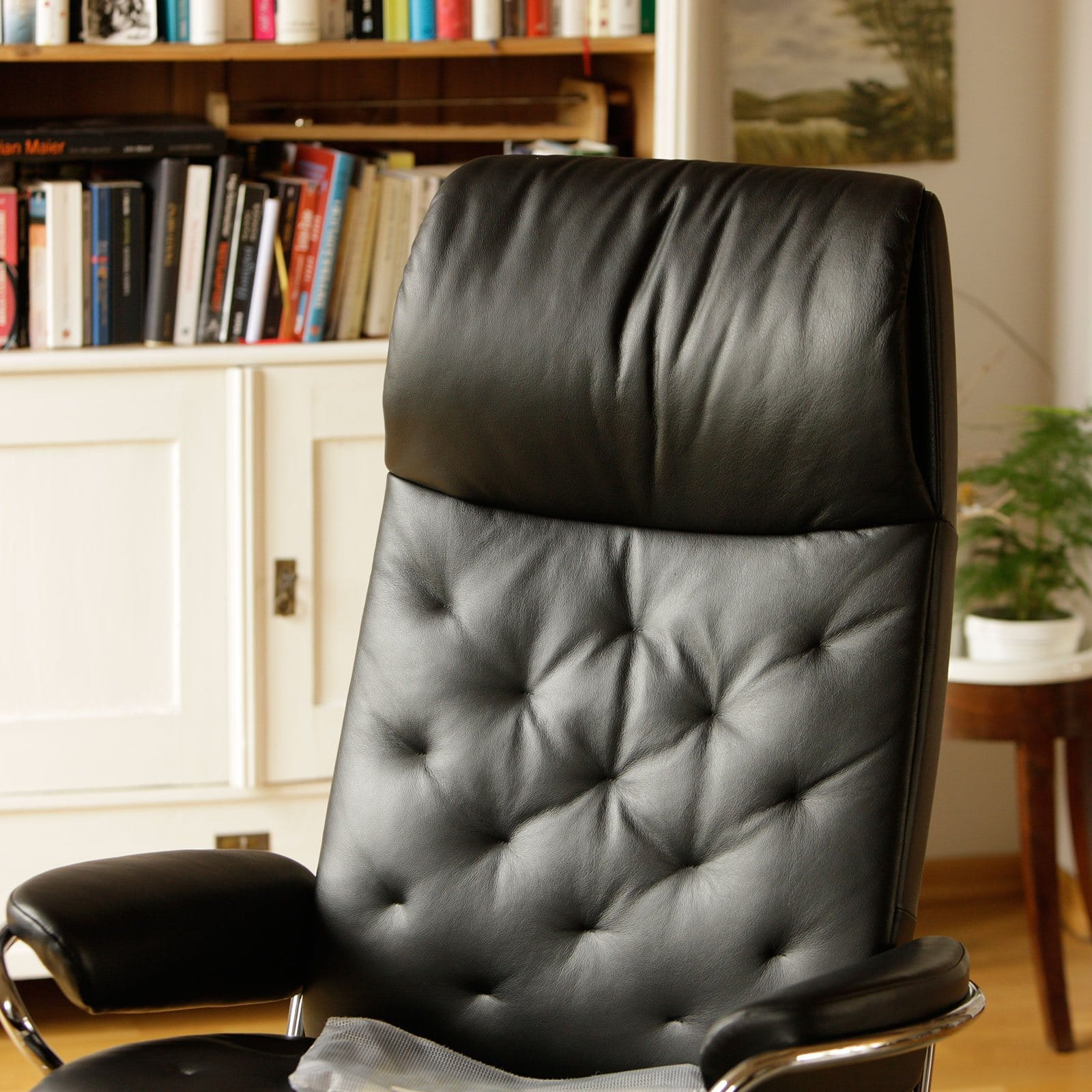 Stressless Sessel Metro High Back Stressless Sessel Metro High Back Leder Paloma Black Mit Hocker
