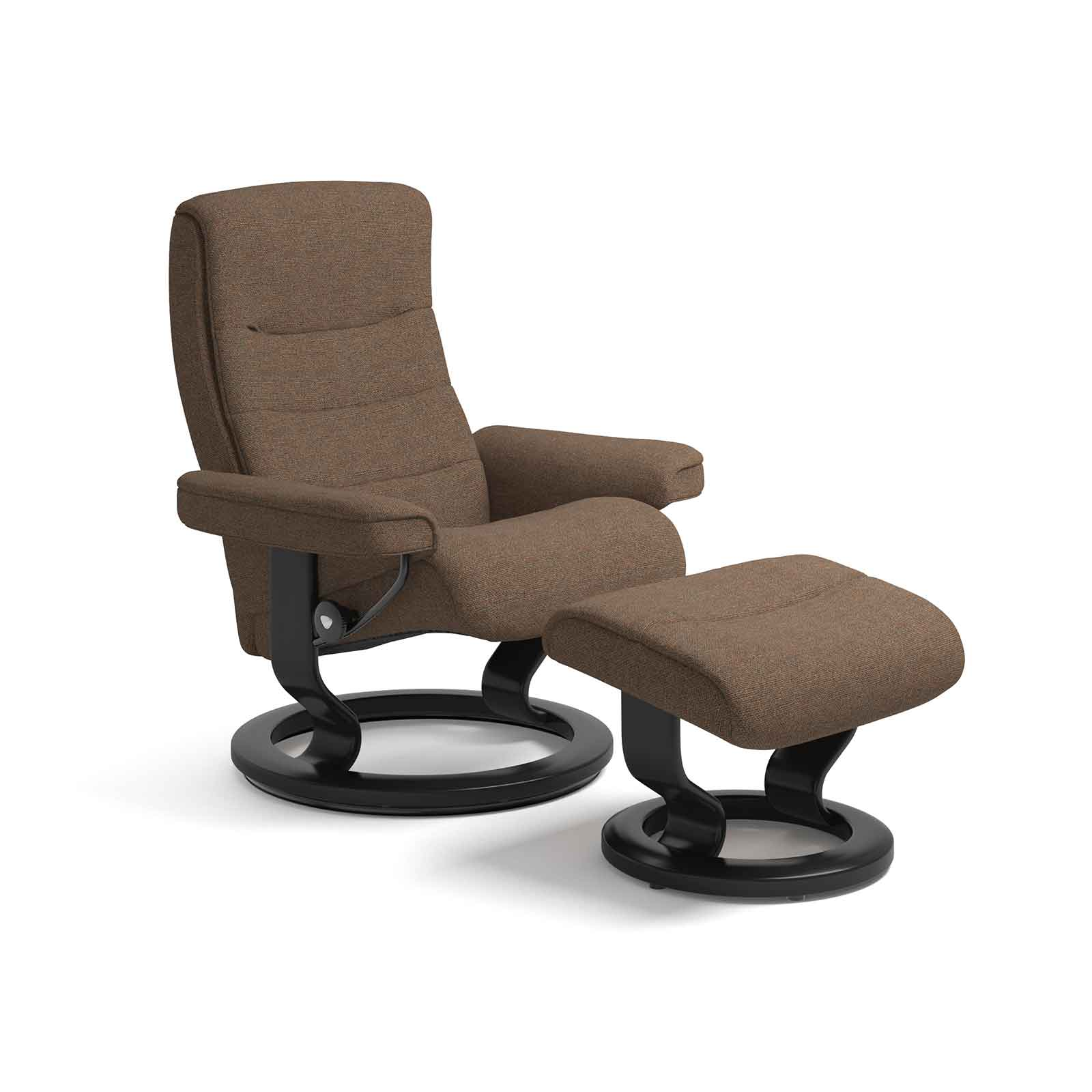 Fernsehsessel Stoff Stressless Sessel Nordic Iris Orange Mit Hocker Stressless