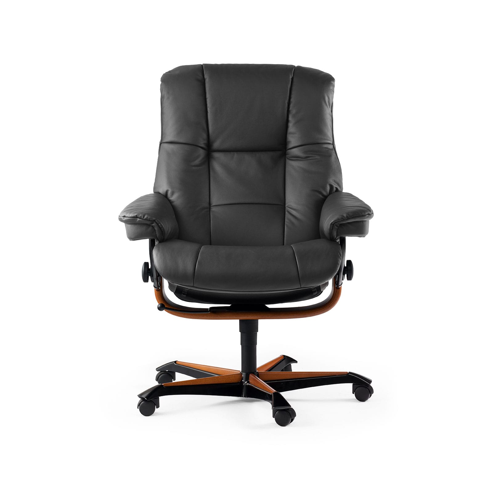 Stressless Lederfarben Stressless Sessel Mayfair Home Office Leder Paloma Rock
