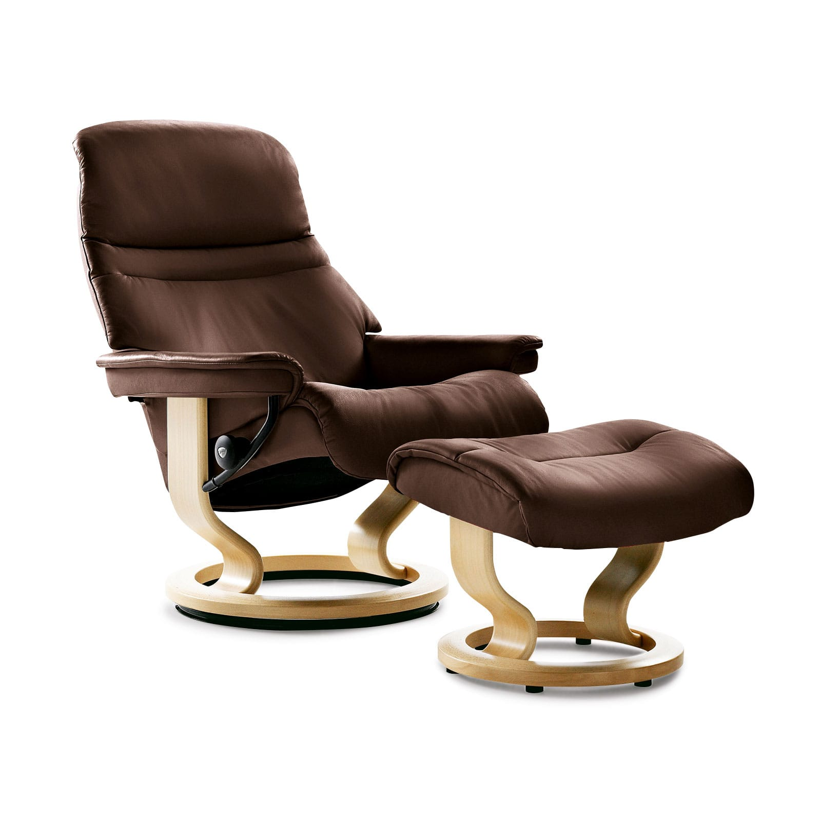 Stressless Sessel Stressless Sessel Sunrise M Batick Brown Mit Hocker