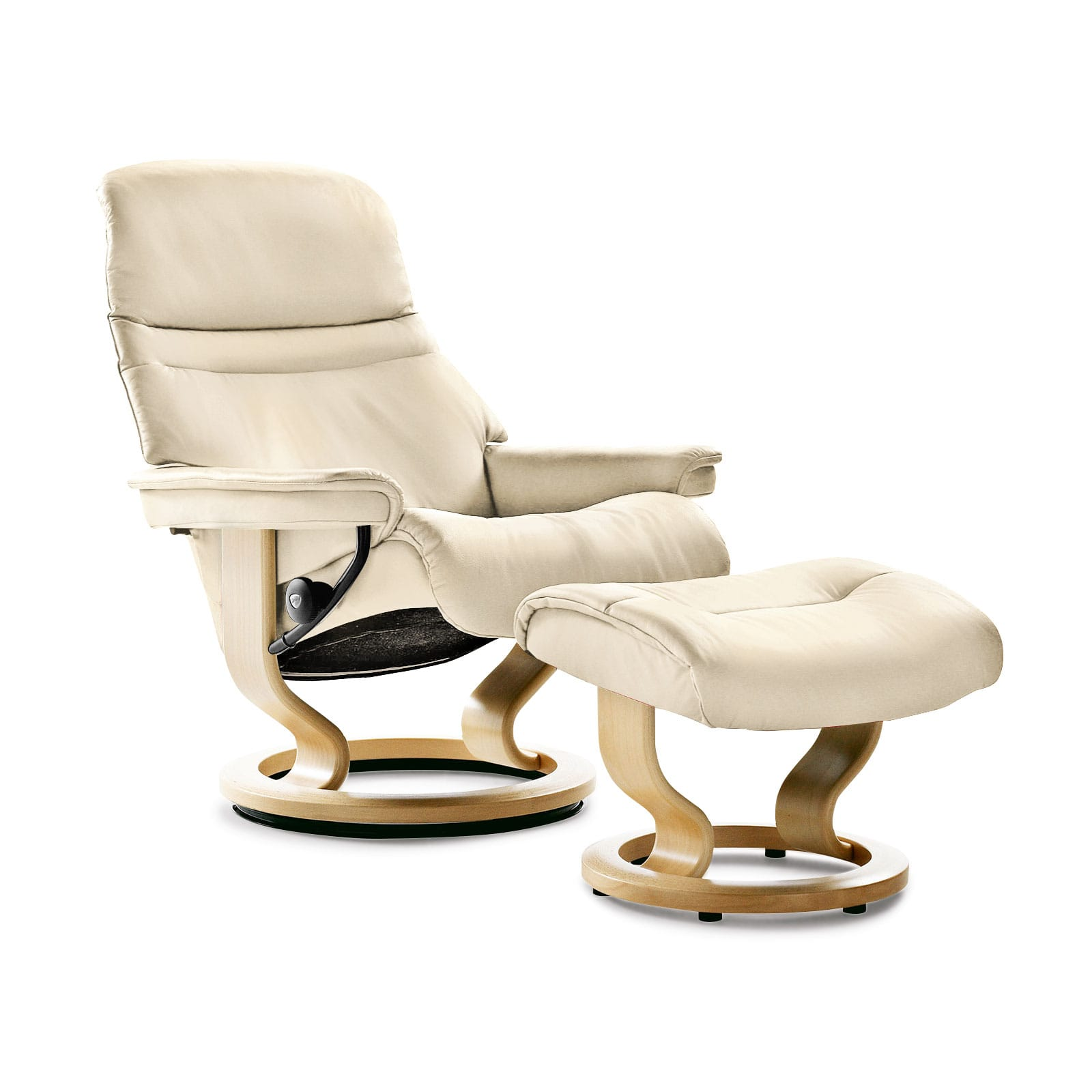 Sessel M Stressless Sessel Sunrise Classic M Batick Cream Mit Hocker