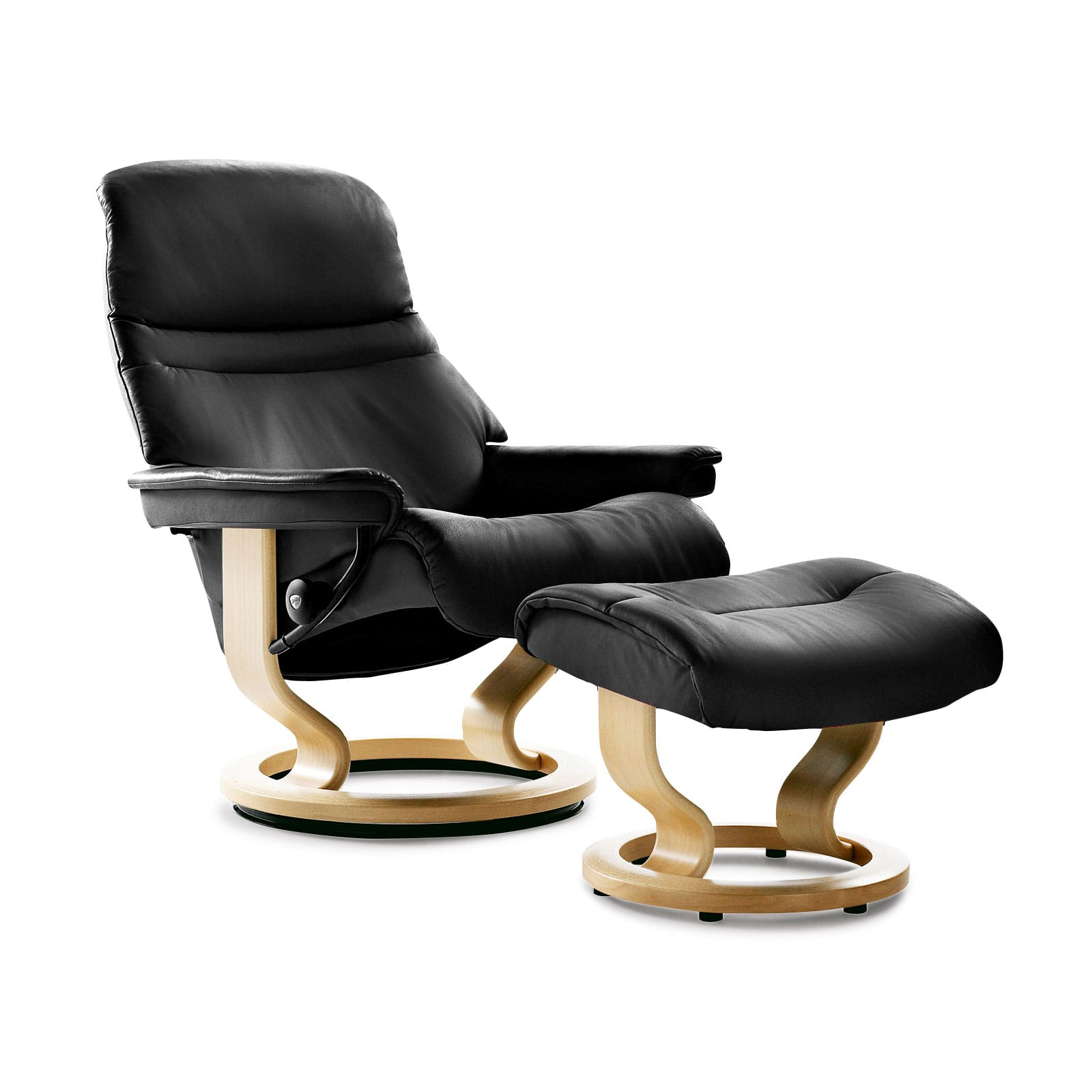 Stressless Sessel Testberichte Stressless Sessel Sunrise (m) Batick Black Mit Hocker