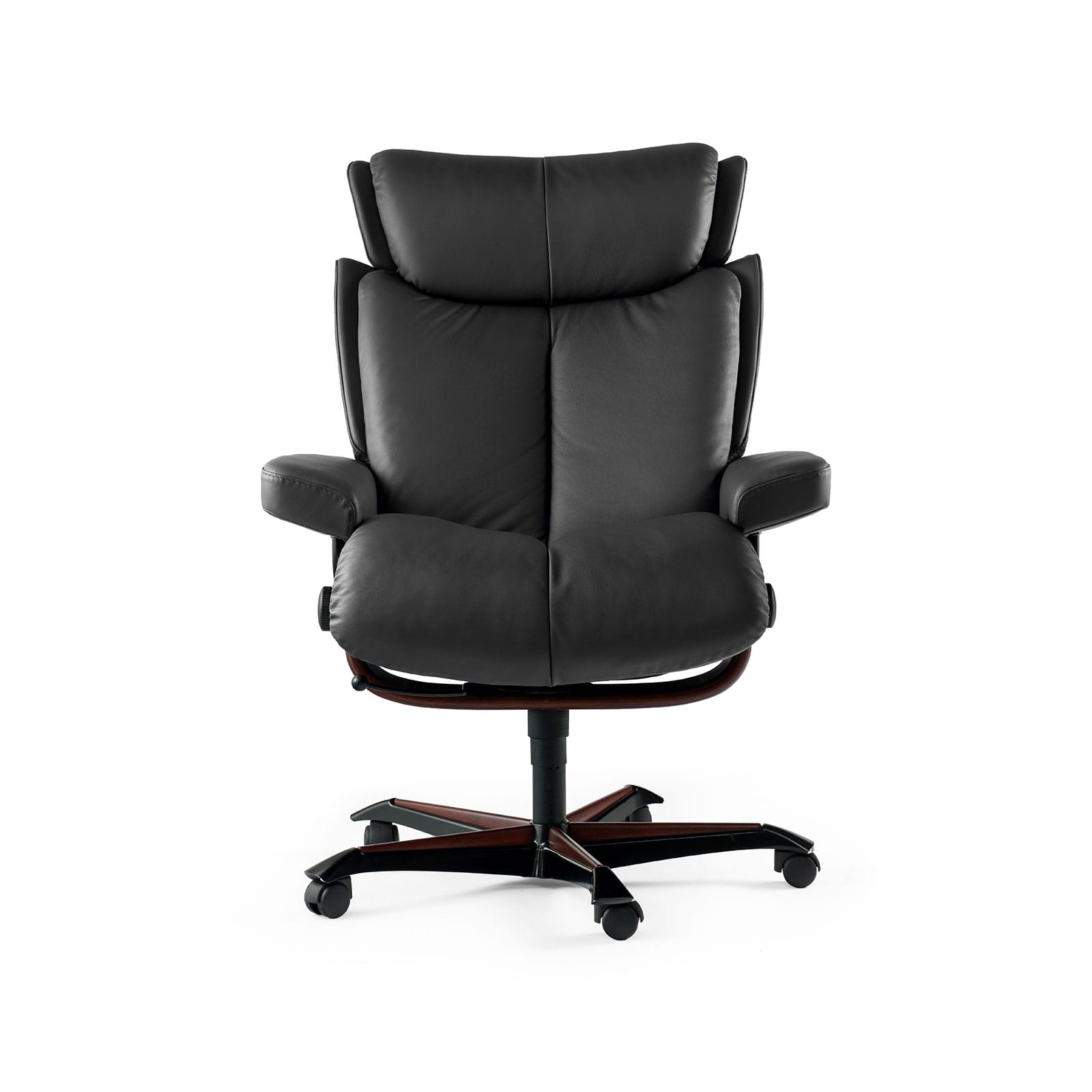 Stressless Bürostuhl Stressless Sessel Magic Home Office Paloma Rock Gestell Braun