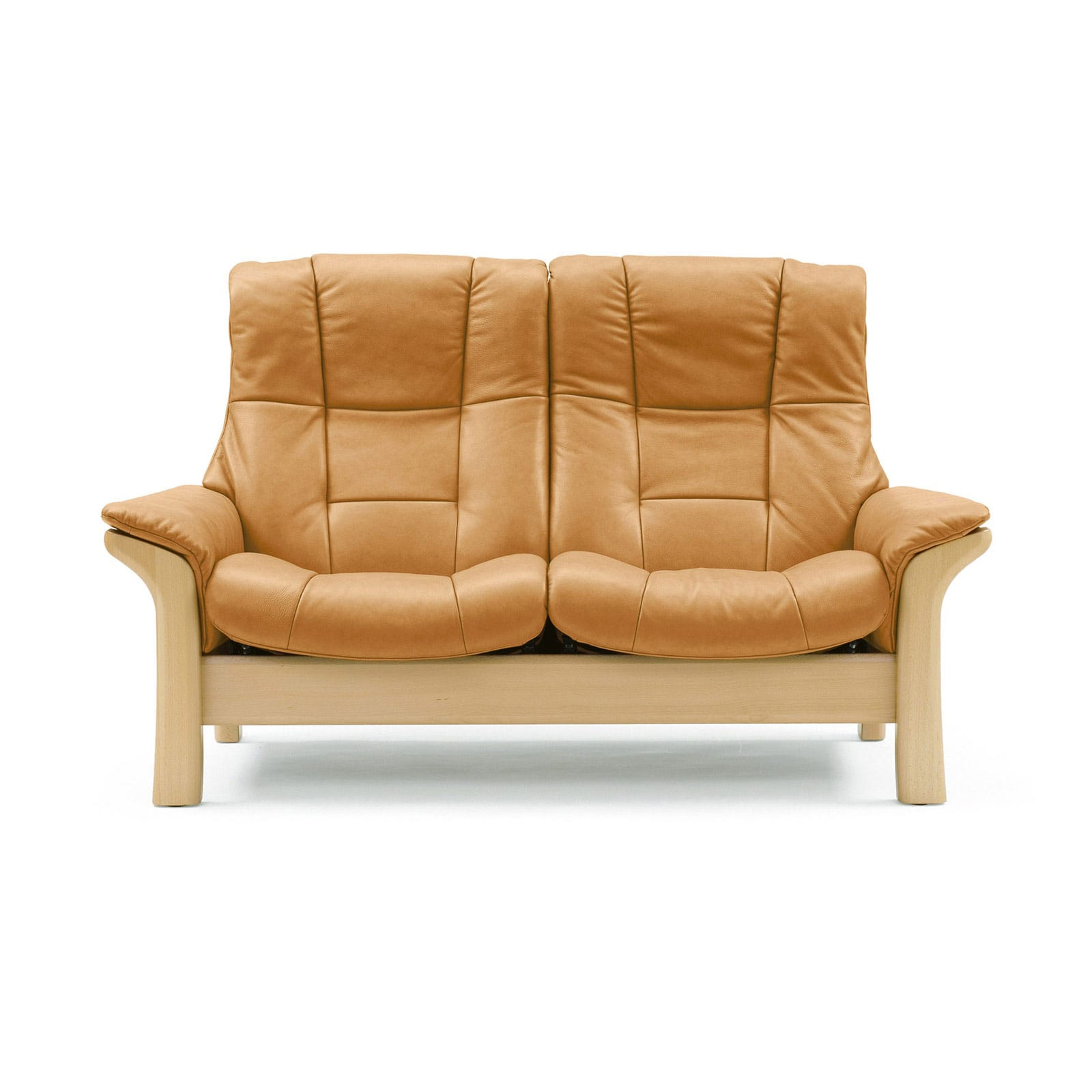Stressless Sofa 2 Sitzer Buckingham L Hoch Tan Natur