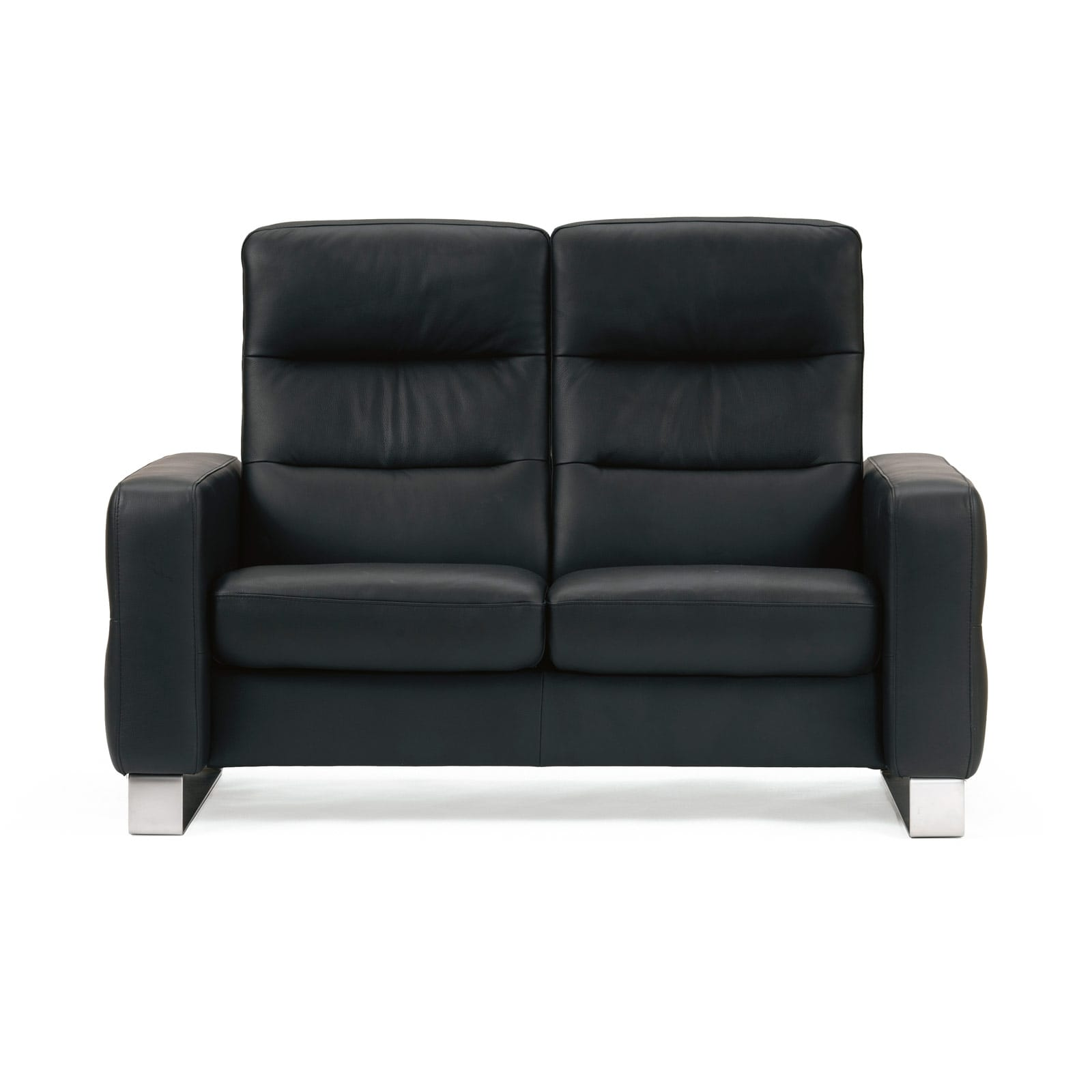 Stressless Sofa 2 Sitzer Wave M Hoch Paloma Black Stressless