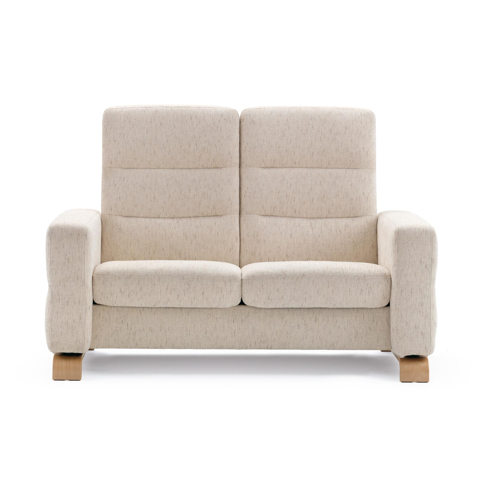 Stressless Sofa 2 Sitzer Wave M Hoch Silva Light Beige