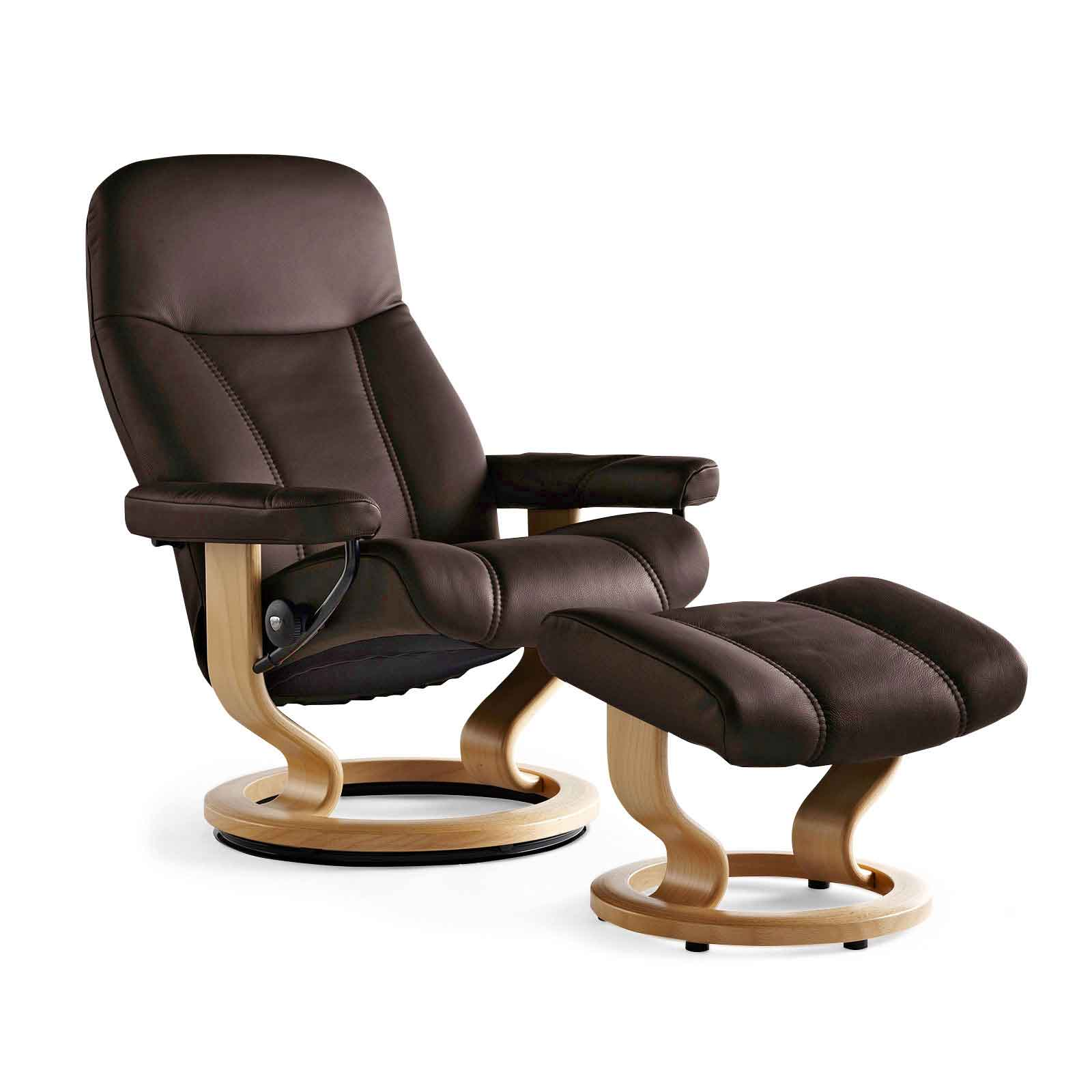 Stressless Aktion Stressless Sessel Consul Braun | Fernsehsessel Deluxe