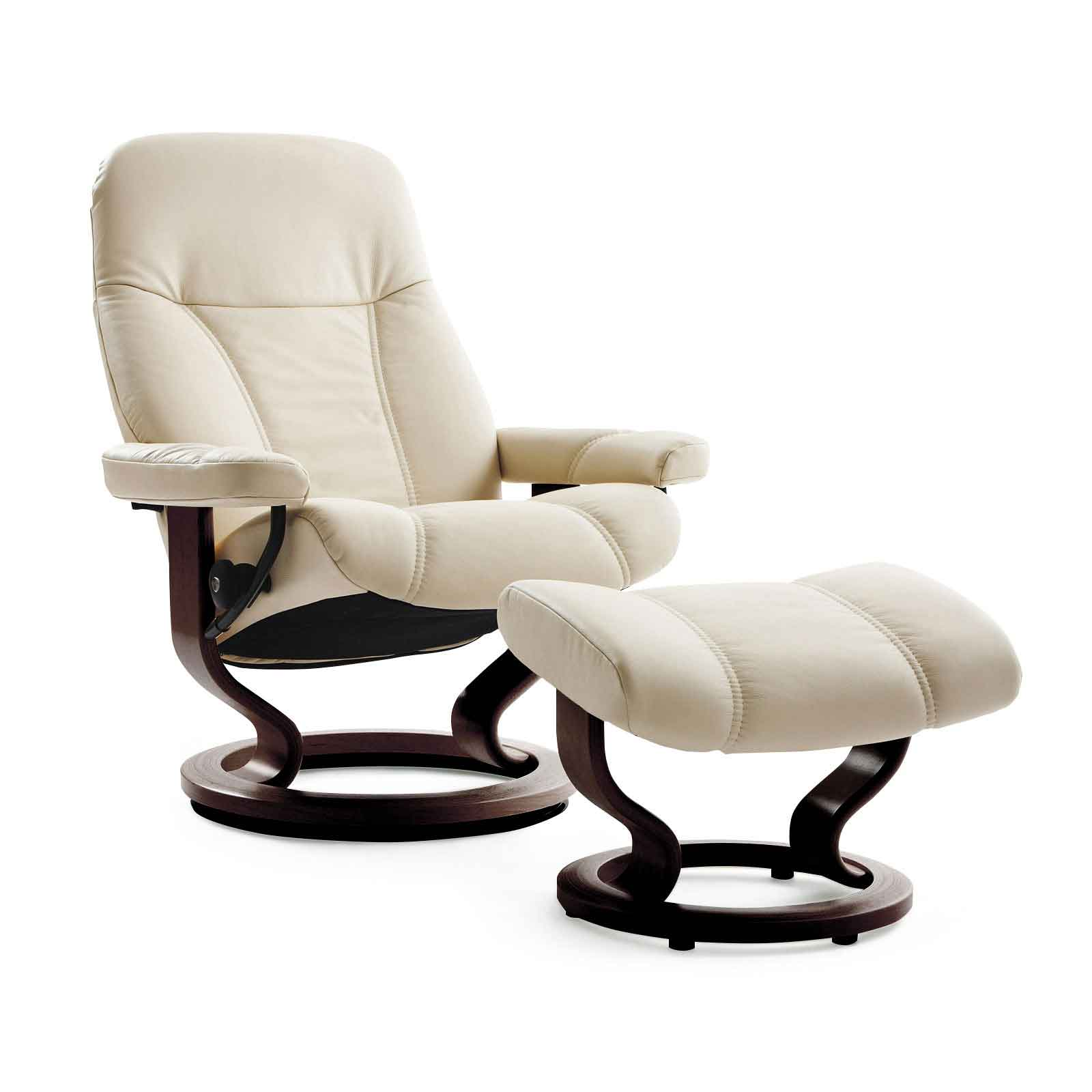 Stressless Sessel Höffner Stressless Sessel Consul M Batick Cream Mit Hocker