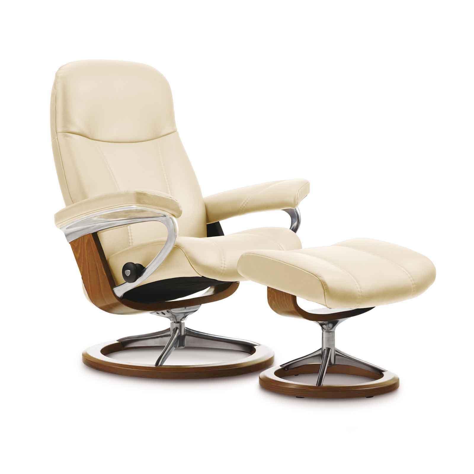 Stressless Sessel Berlin Stressless Sessel Consul Cream S Leder Batick Mit Hocker