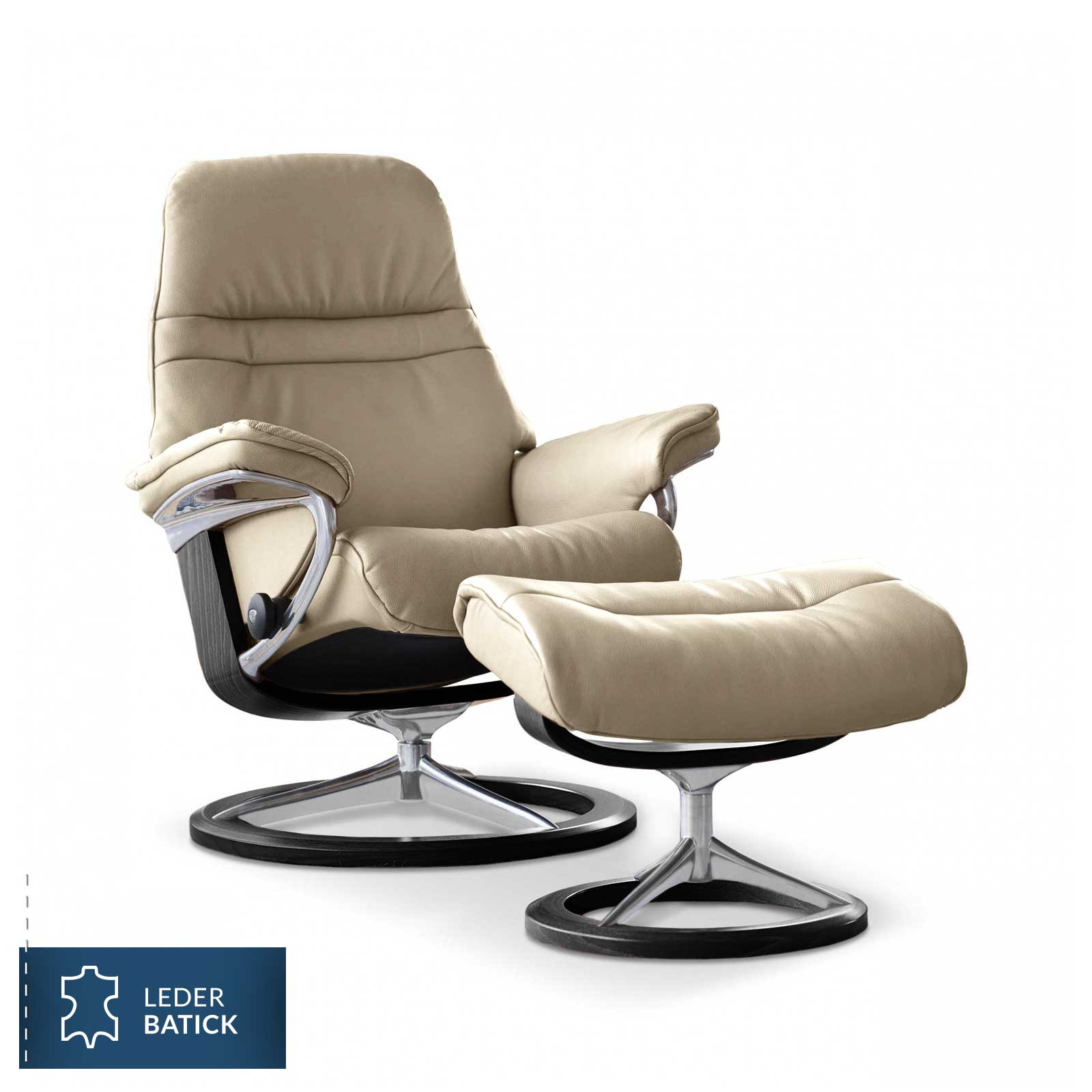 Stressless Wing Signature Sessel Stressless Sessel Sunrise Signature L Batick Cream