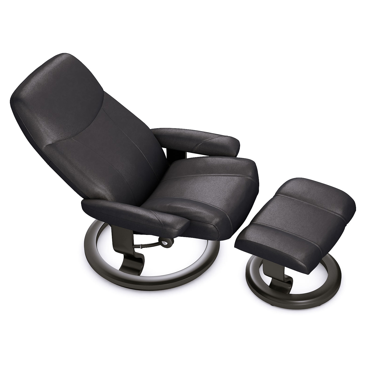 Stressless Consul M Sessel Und Hocker Stressless Consul Ledersessel Schwarz House Of Comfort