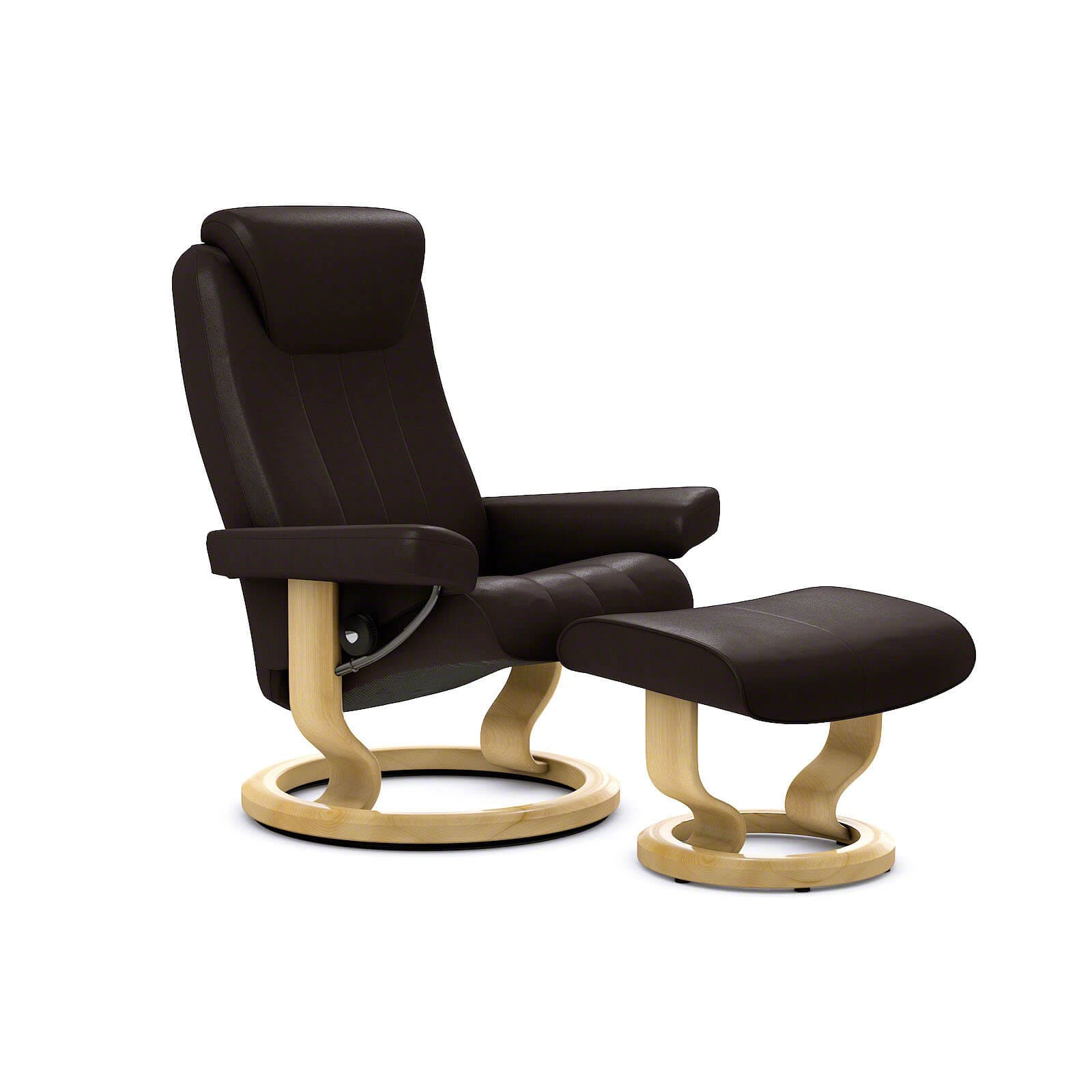 Stressless Sessel Bliss Stressless Bliss Sessel Paloma Chocolate Mit Hocker