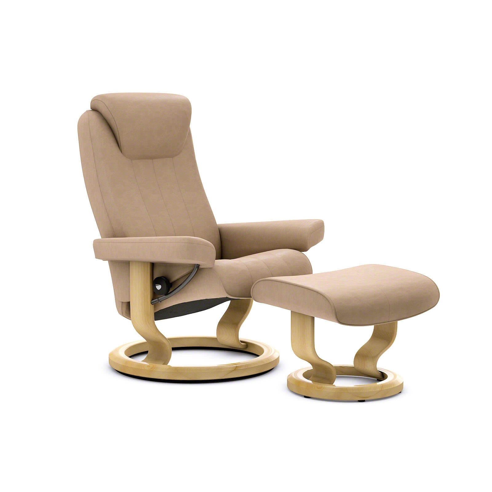 Sessel Sand Stressless Bliss Sessel Paloma Sand Mit Hocker Stressless