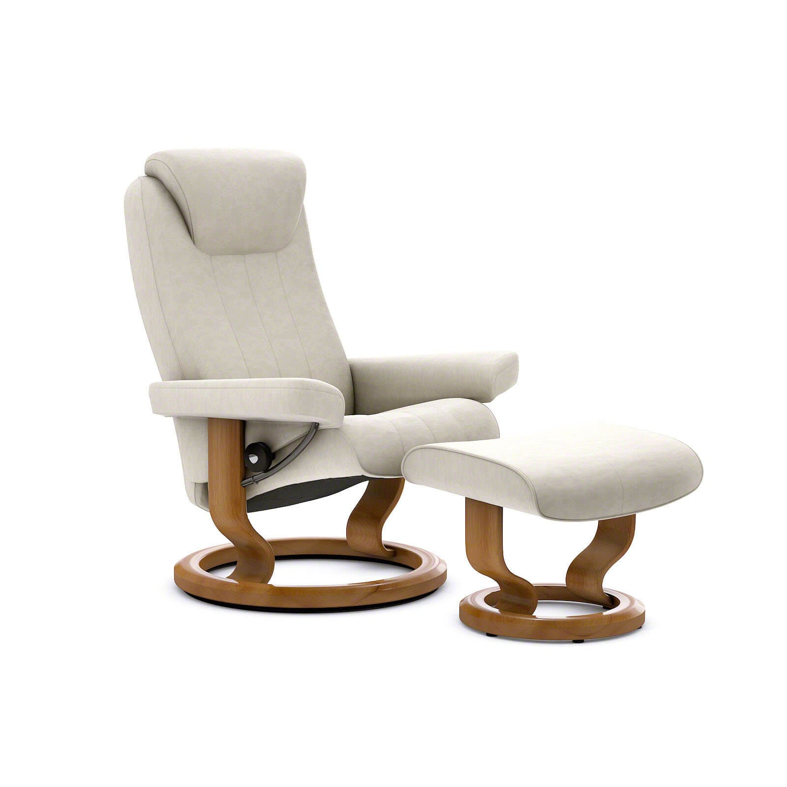 Sessel Erhöhen Stressless Bliss Sessel Vanilla Mit Hocker Stressless Shop