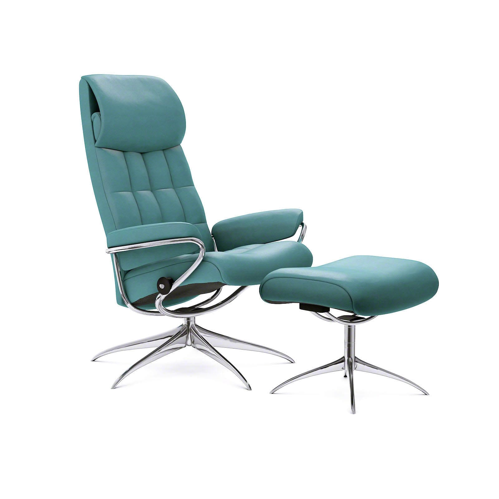 Stressless Sessel Höffner Stressless London Sessel Mit Hoher Lehne Paloma Aqua Green