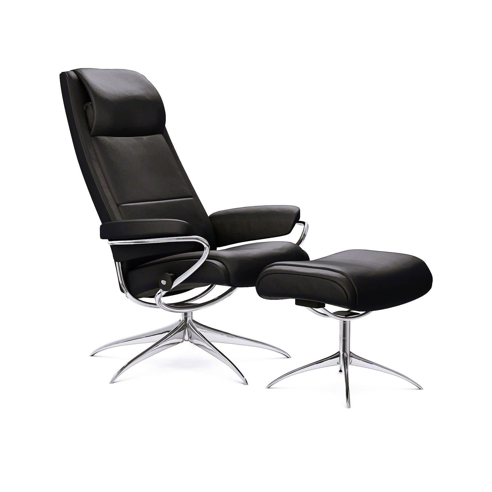 Stressless Sessel Paris High Back Stressless Ledersessel Paris Hohe Lehne Paloma Schwarz