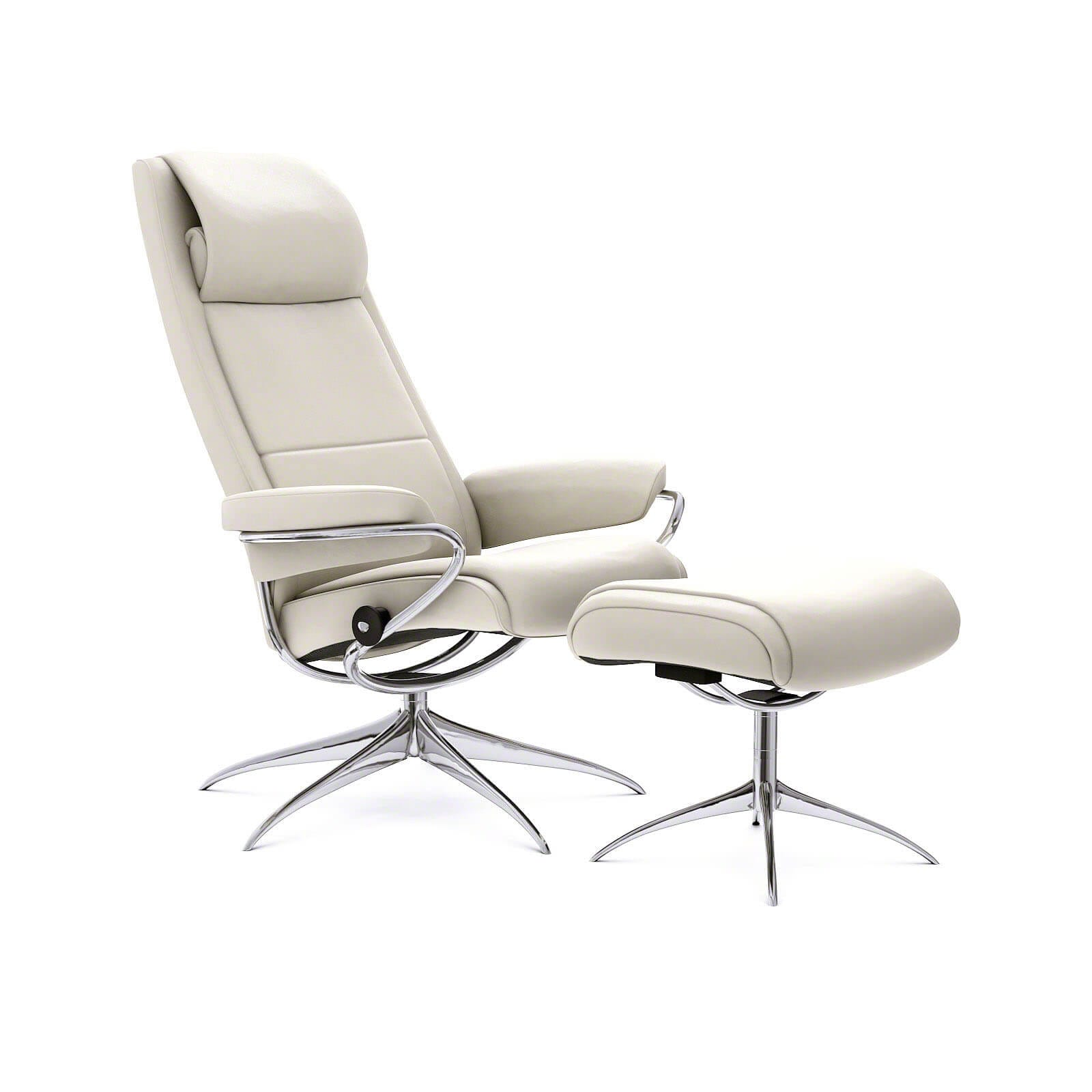 Stressless Sessel Paris High Back Stressless Ledersessel Paris Hohe Lehne Paloma Vanilla
