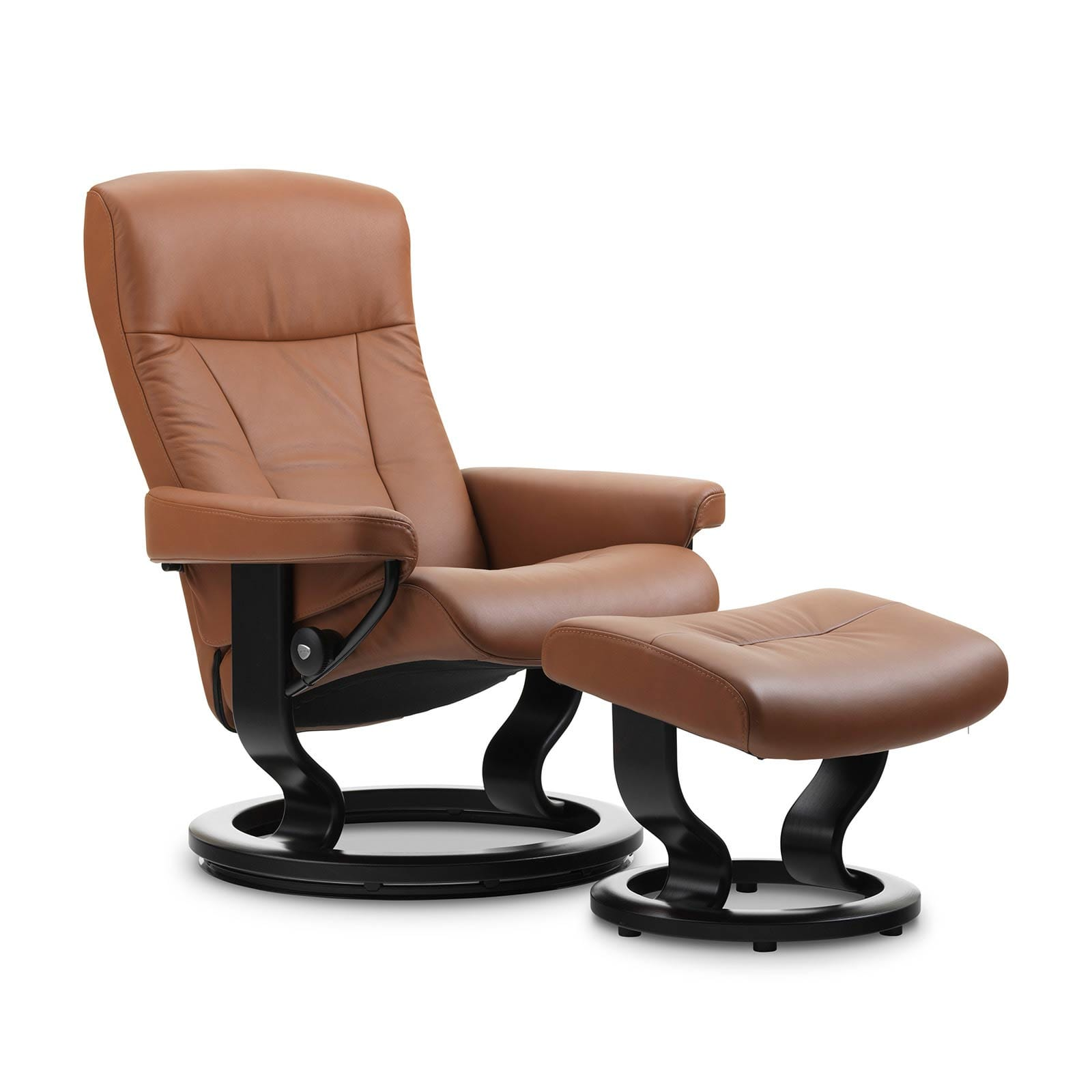 Summer Casual Geflecht Relax-sessel Sessel Mit Hocker Leder Interesting Stressless City High