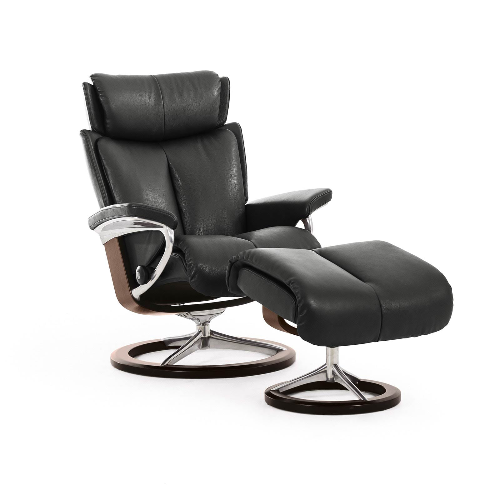 Stressless Sessel Günstig Stressless Sessel Magic Metal Grey Paloma Signature Walnuss Ohne Hocker