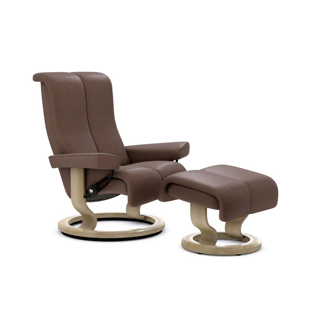 Relaxsessel Berlin Stressless Relaxsessel Piano Classic Leder Noblesse Brown