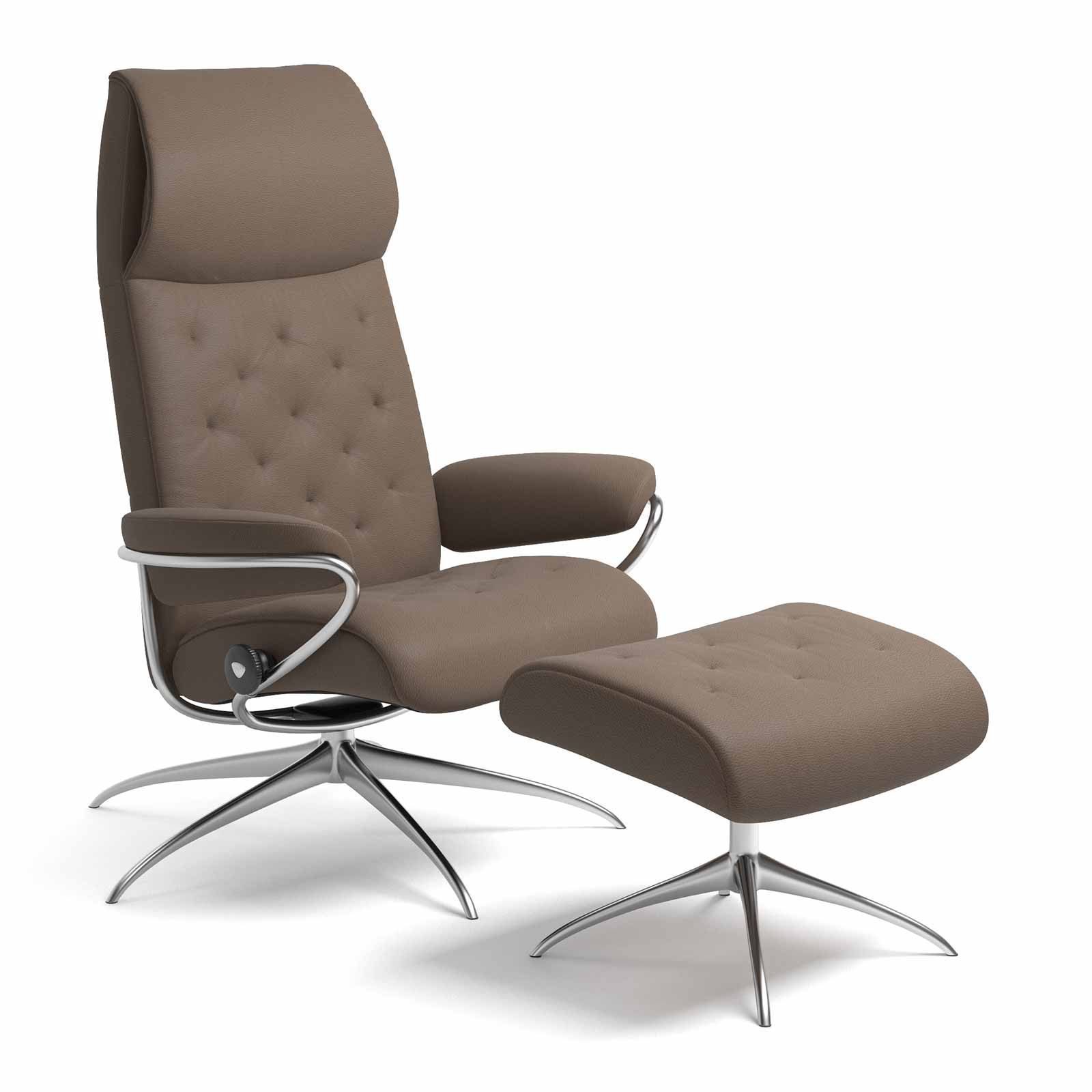 Stressless Sessel City High Back Stressless Metro High Back Batick Mole Mit Hocker Stressless
