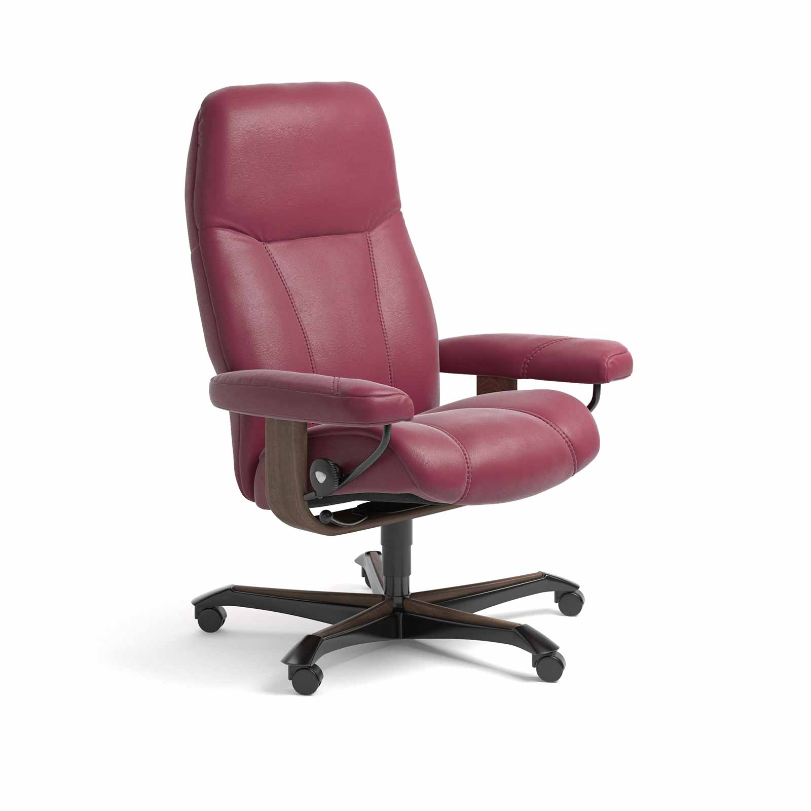 Stressless Bürostuhl Stressless Sessel Consul Home Office Paloma Beet Red Büro