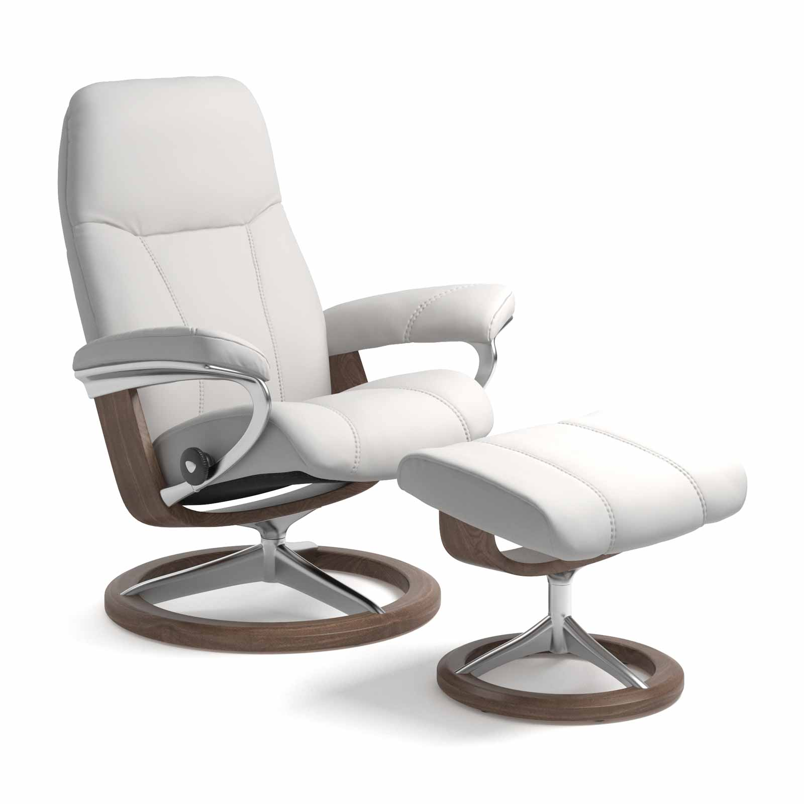 Stressless Wing Signature Sessel Stressless Sessel Consul Signature Batick Snow Mit Hocker