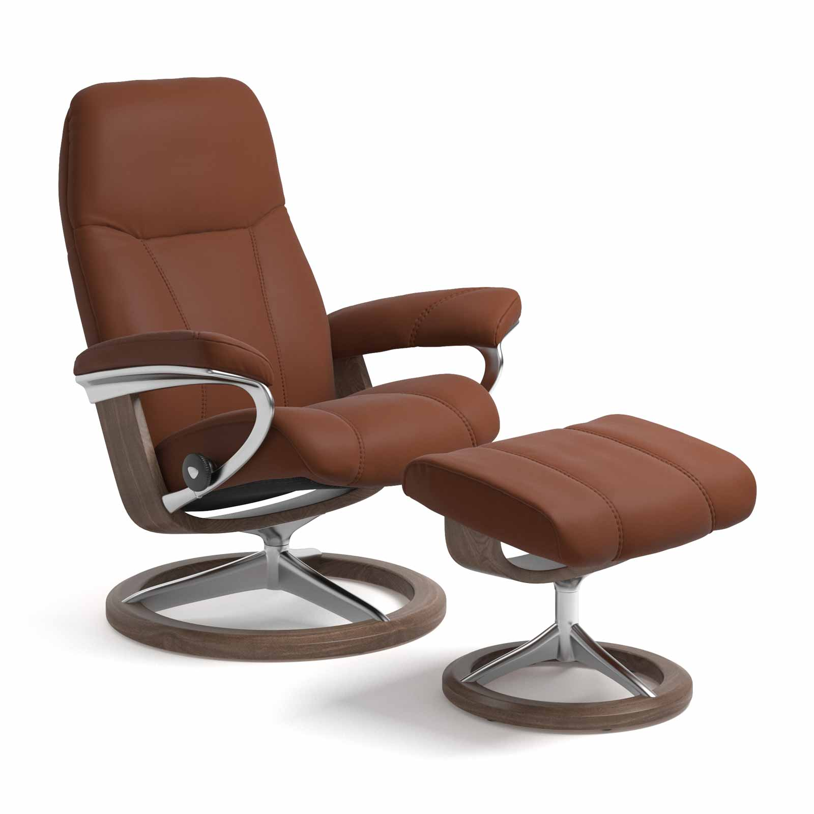 Stressless Wing Signature Sessel Stressless Sessel Consul Signature Paloma Copper Mit Hocker